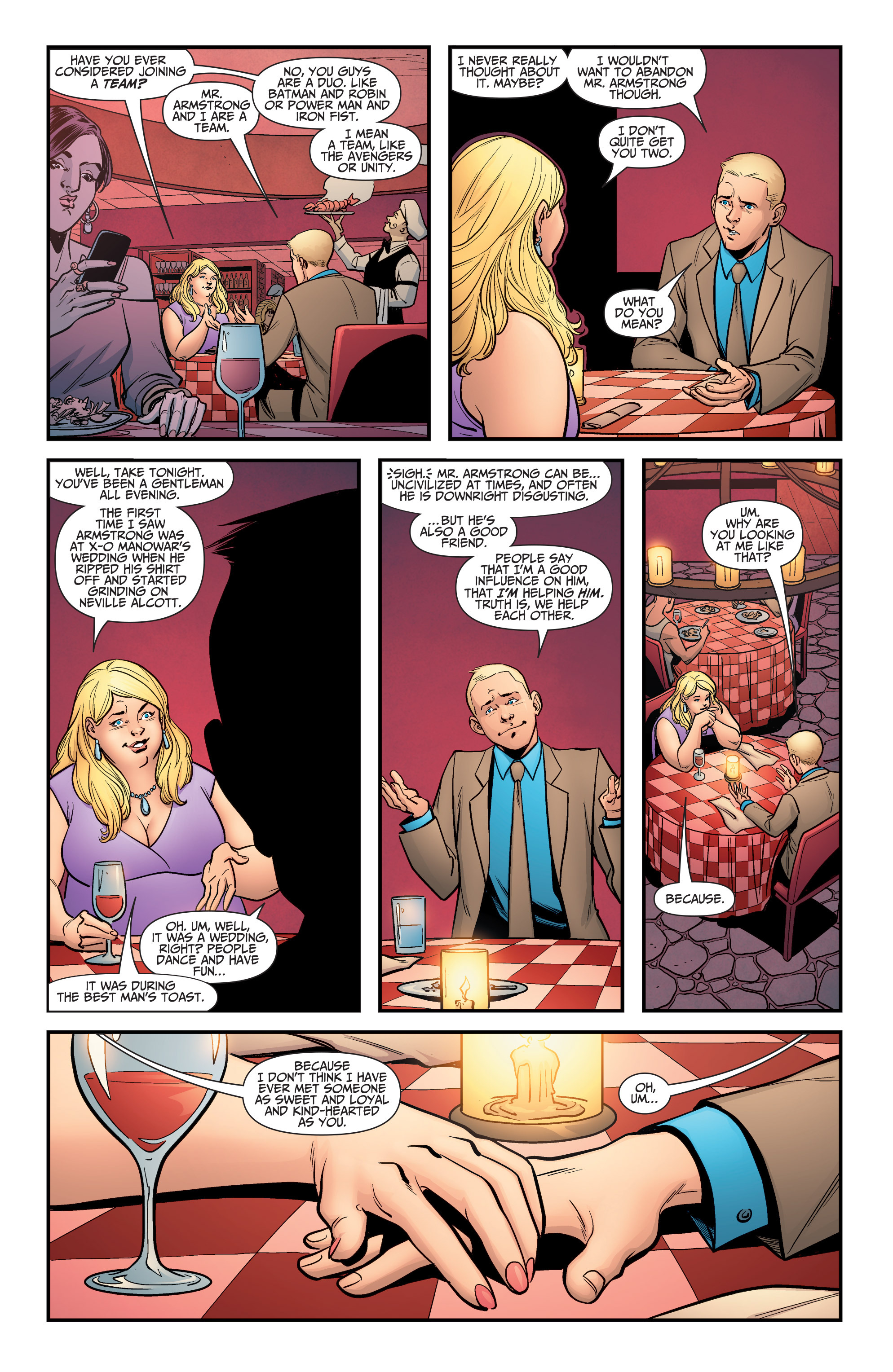 Read online A&A: The Adventures of Archer & Armstrong comic -  Issue #5 - 10