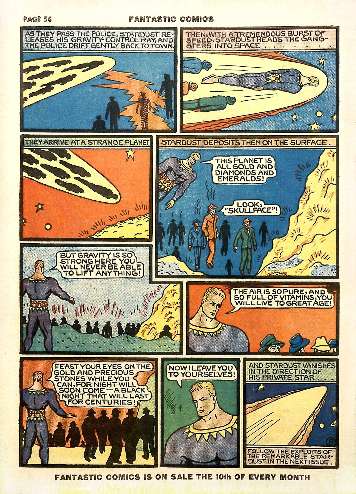 Read online Fantastic Comics comic -  Issue #11 - 59