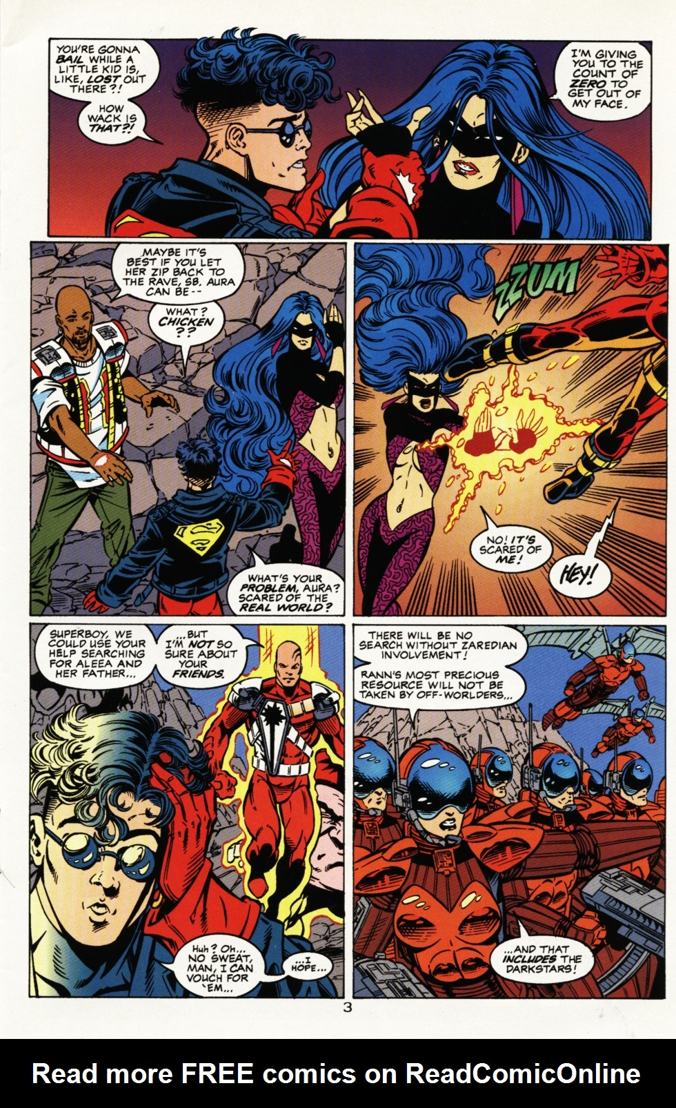 Read online Superboy & The Ravers comic -  Issue #4 - 4