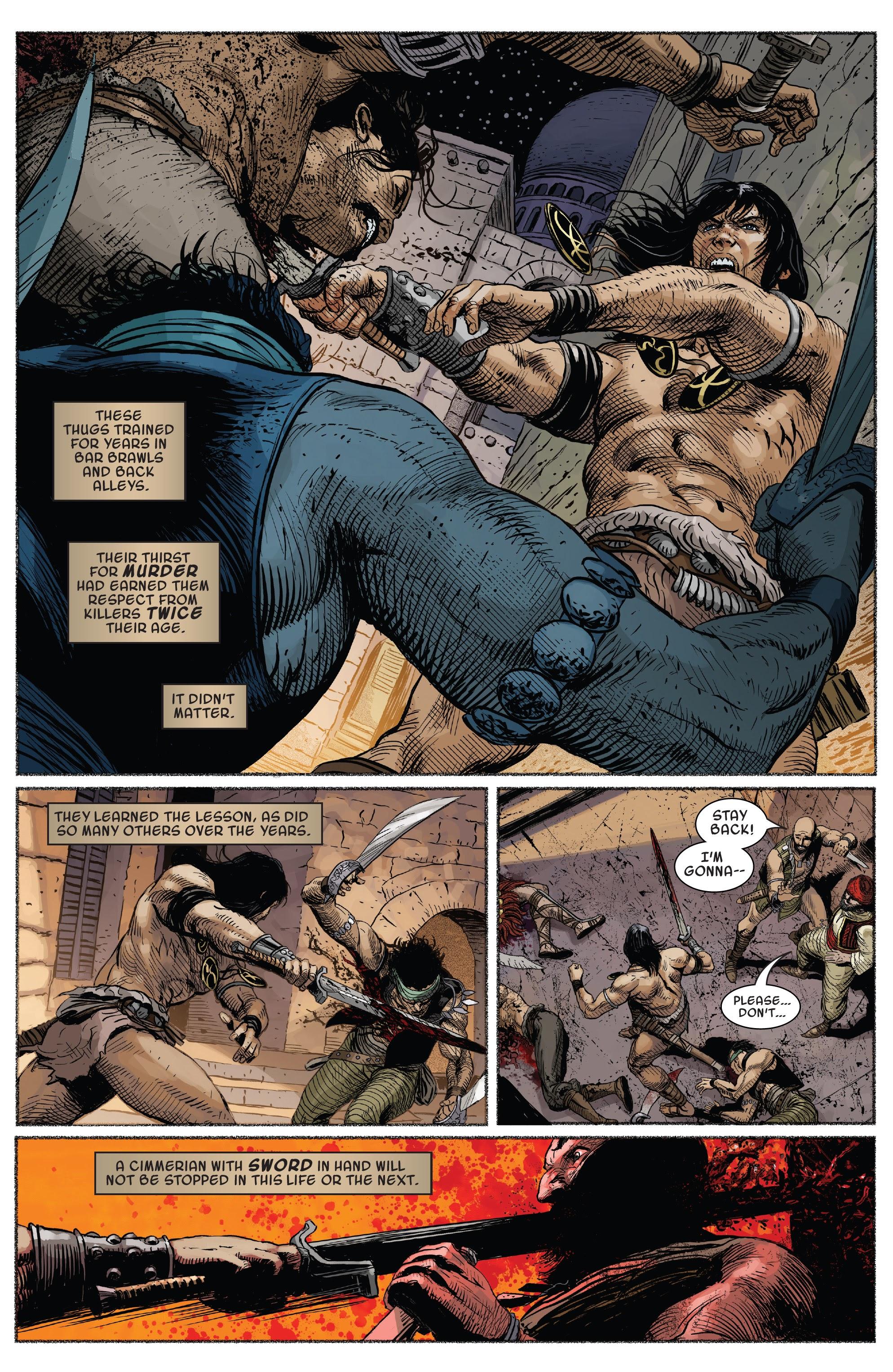 Read online Savage Sword of Conan comic -  Issue #7 - 7