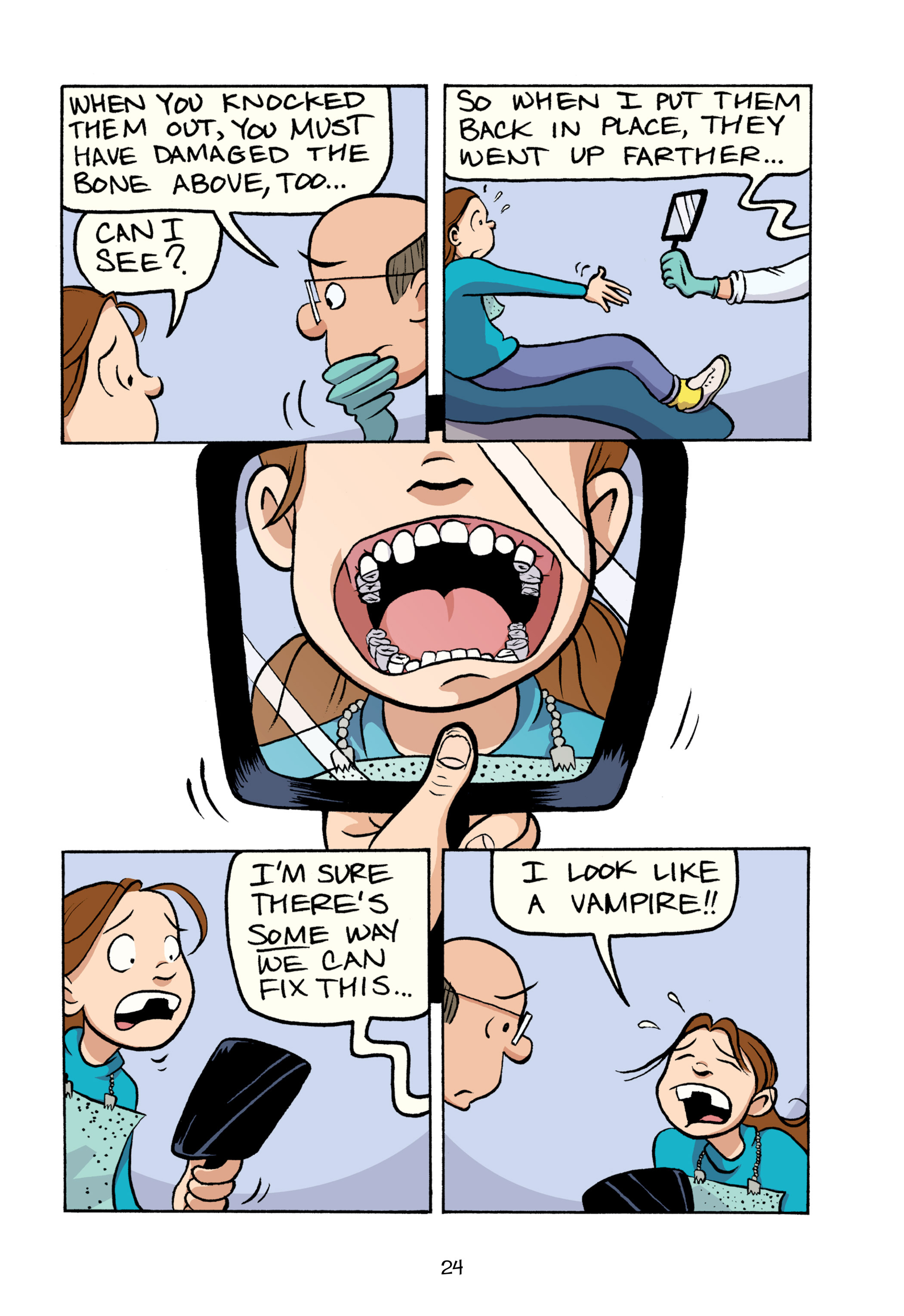 Read online Smile comic -  Issue # TPB - 30