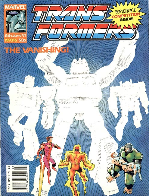 The Transformers (UK) 316 Page 1