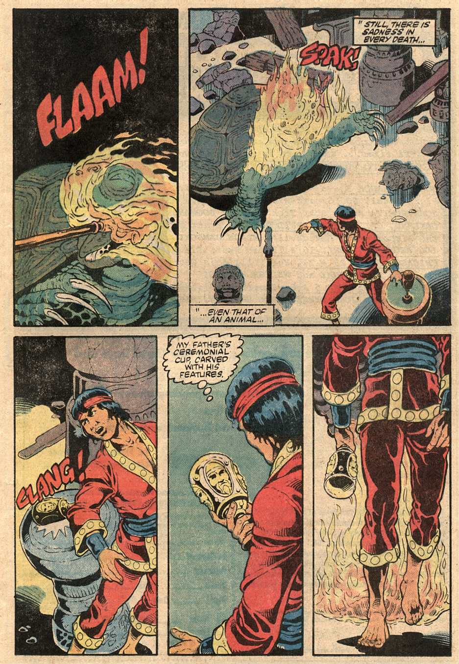 Read online Master of Kung Fu (1974) comic -  Issue #125 - 10