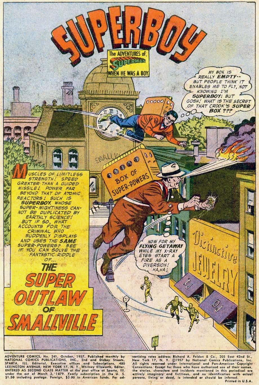 Read online Adventure Comics (1938) comic -  Issue #241 - 3