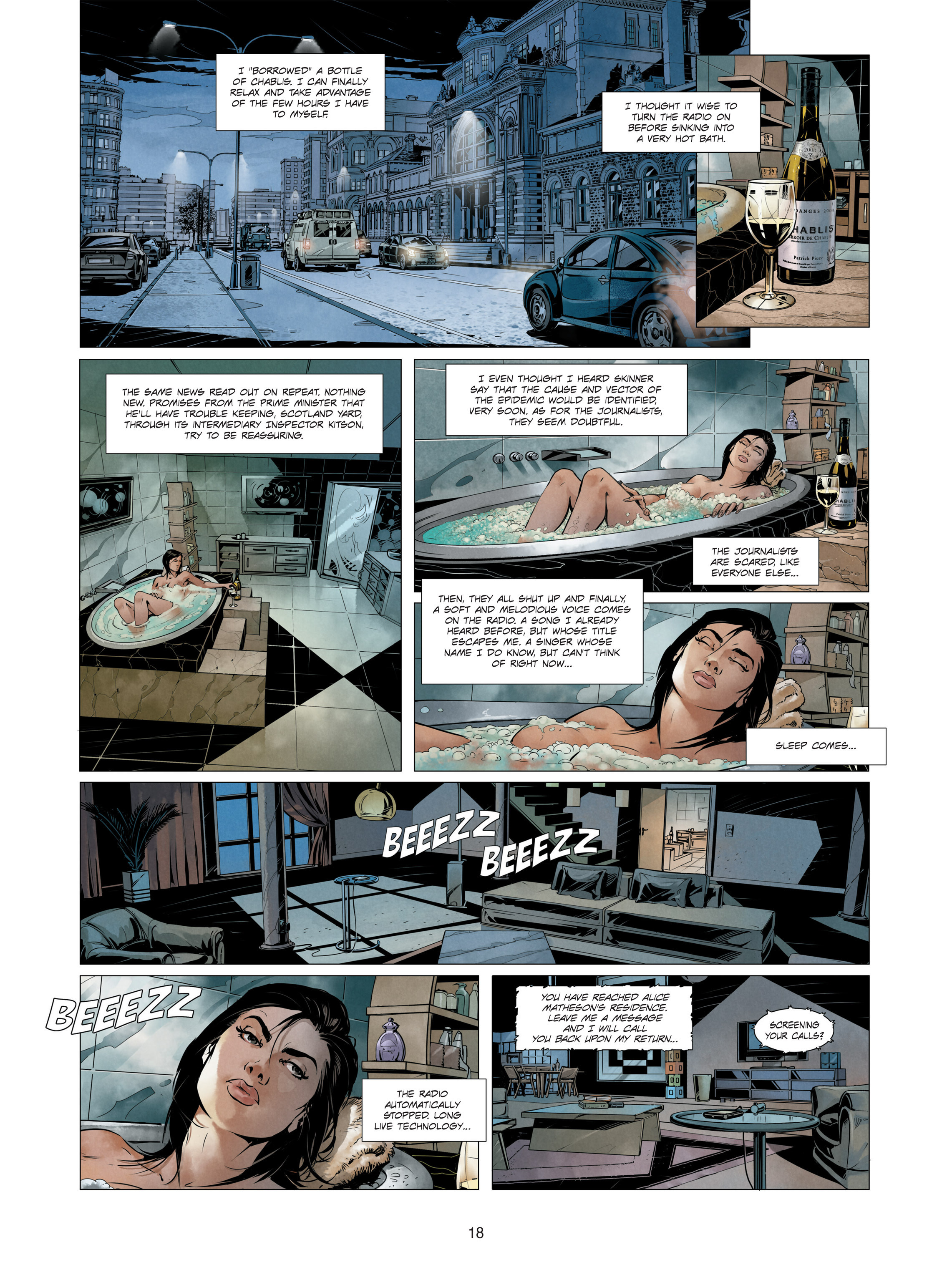 Read online Alice Matheson comic -  Issue #3 - 18