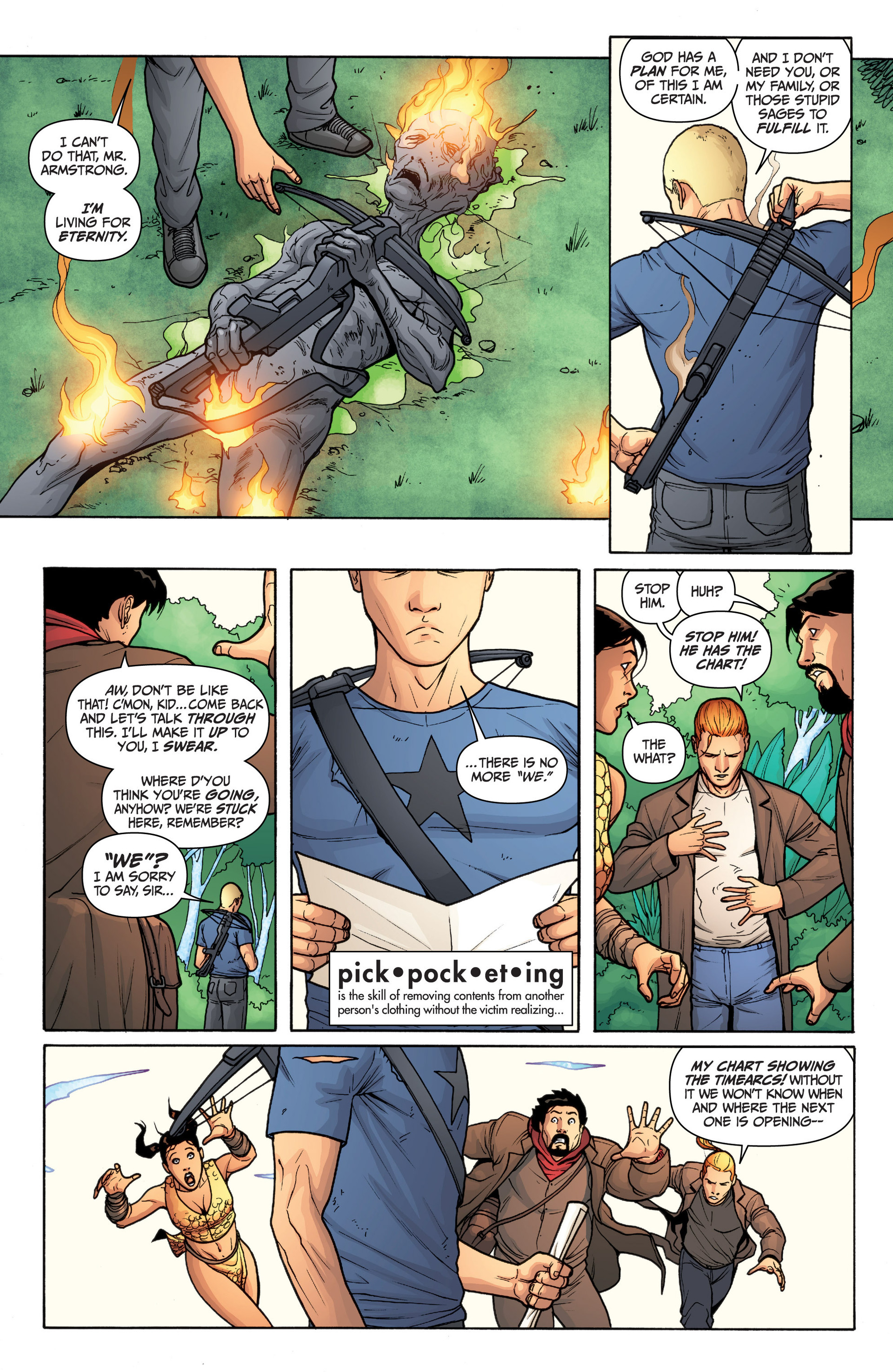 Read online Archer and Armstrong comic -  Issue #13 - 21