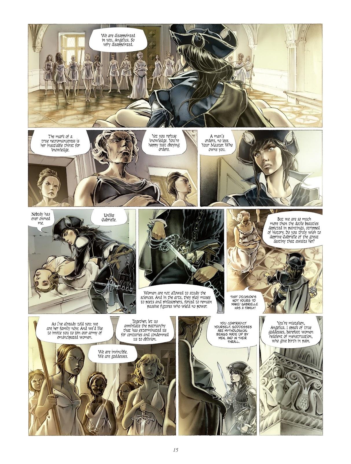 Read online Arthus Trivium comic -  Issue #4 - 17