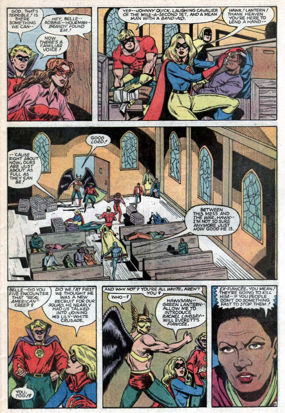 Read online All-Star Squadron comic -  Issue #40 - 7