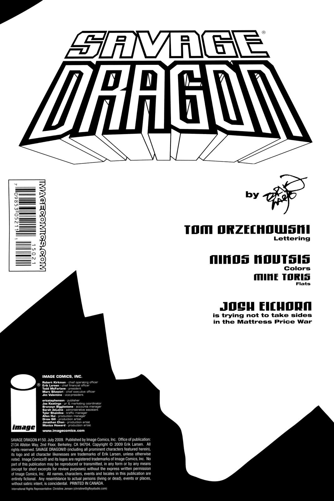 The Savage Dragon (1993) Issue #150 #153 - English 2
