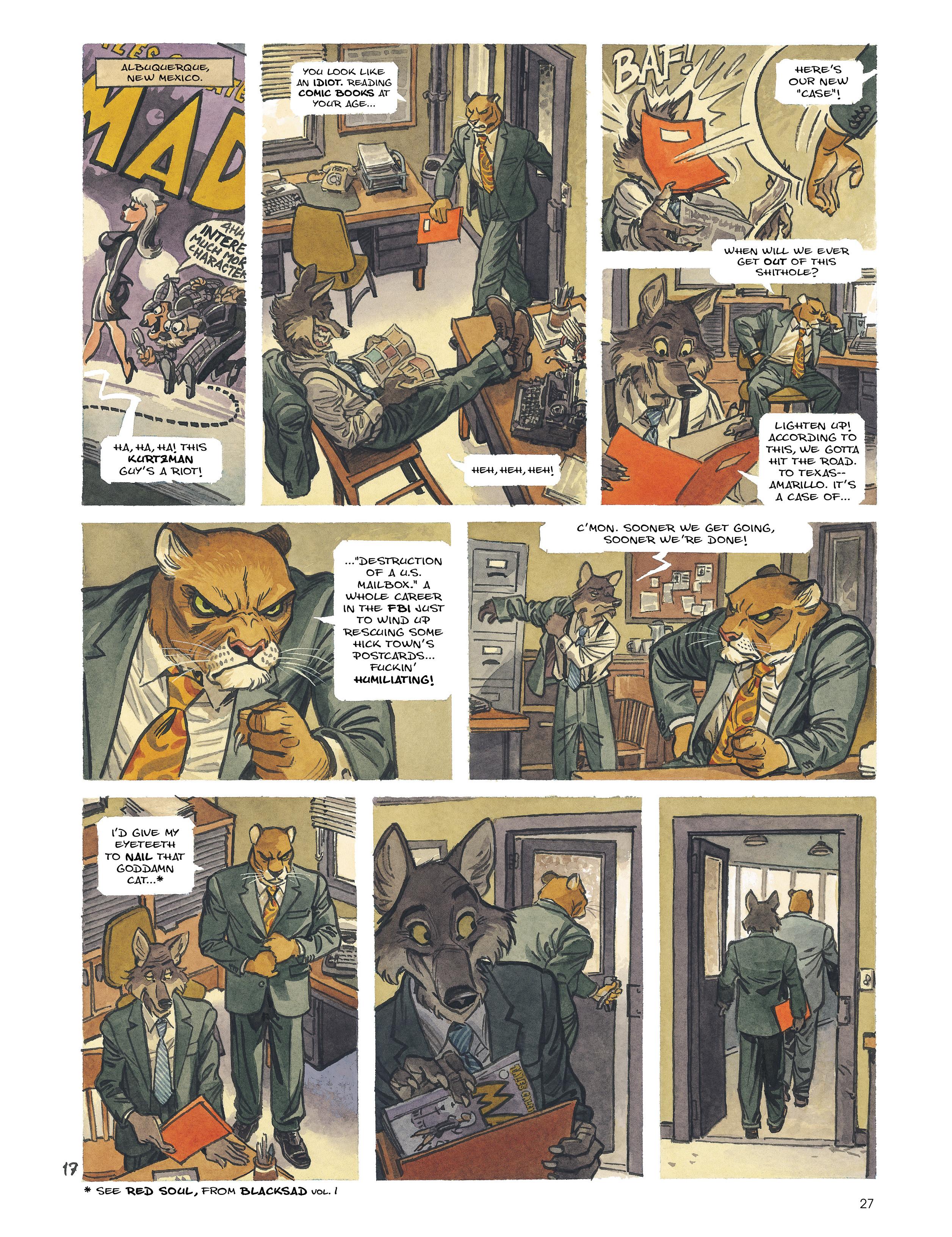 Read online Blacksad: Amarillo comic -  Issue # Full - 26