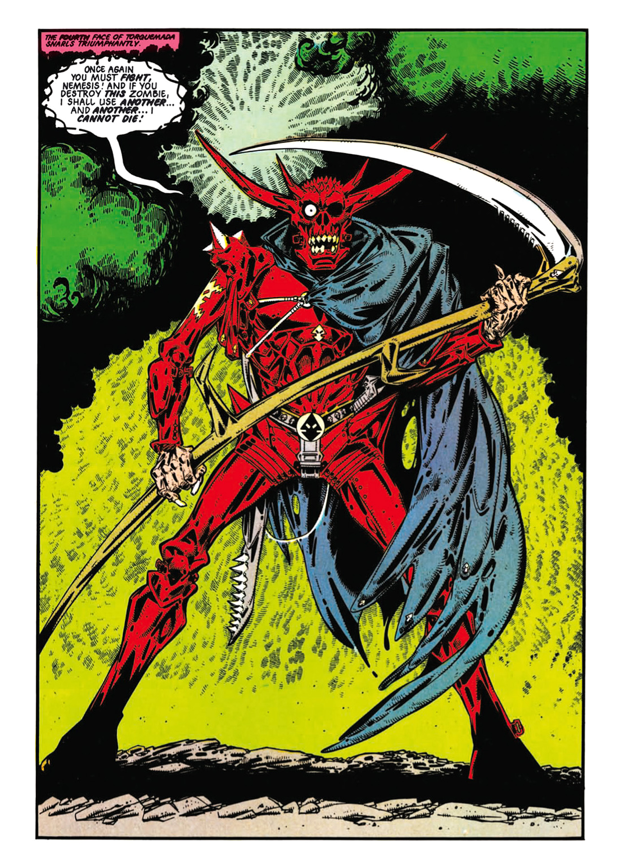 Read online Nemesis The Warlock comic -  Issue # TPB Deviant Edition - 81