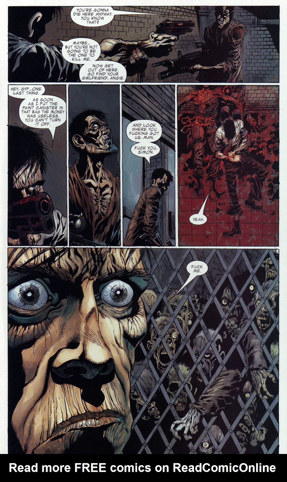 Read online Zombie (2006) comic -  Issue #4 - 17