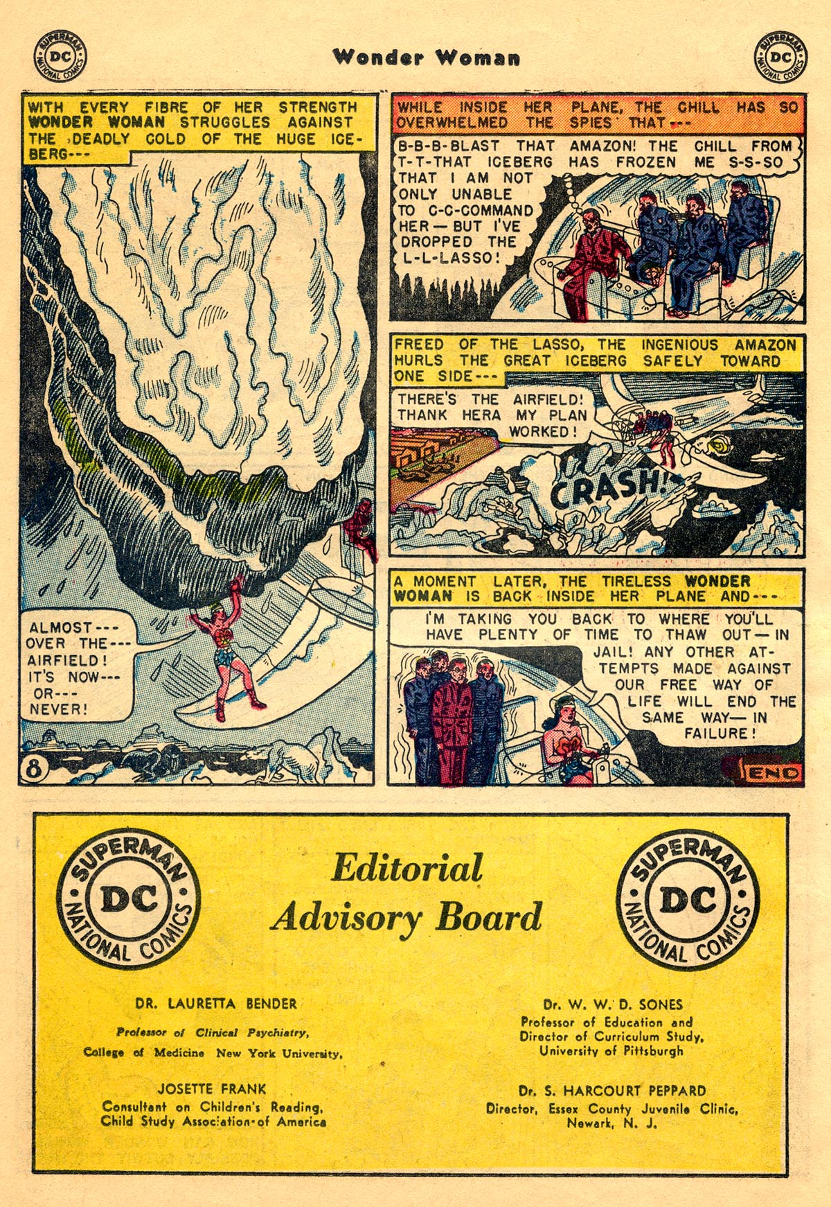 Read online Wonder Woman (1942) comic -  Issue #68 - 22