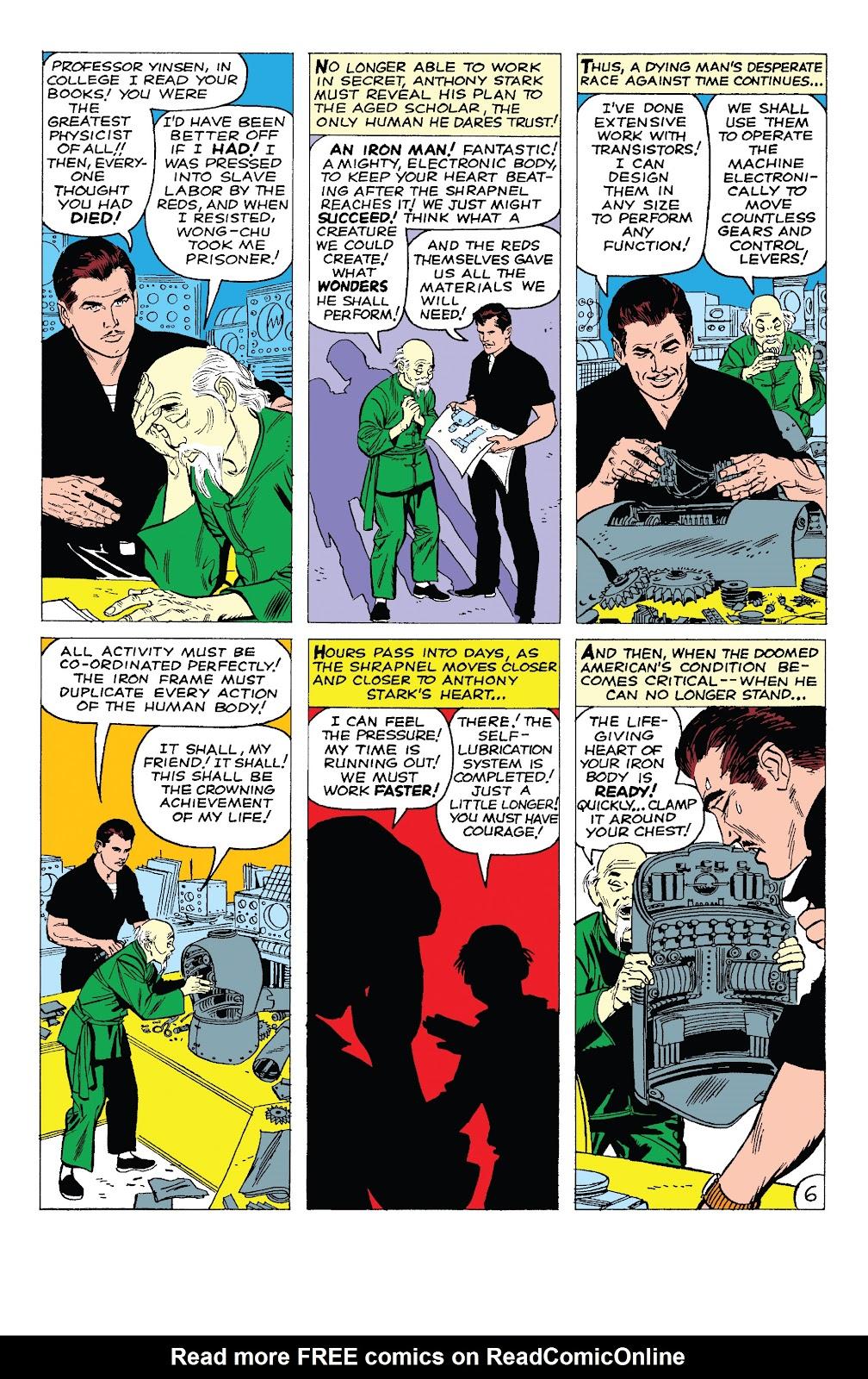 Read online Marvel Tales: Iron Man comic -  Issue # Full - 11