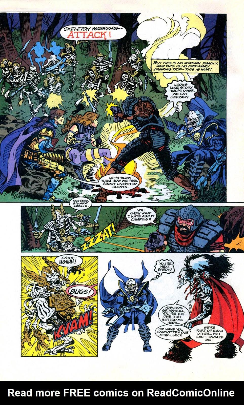 Skeleton Warriors Issue #3 #3 - English 3