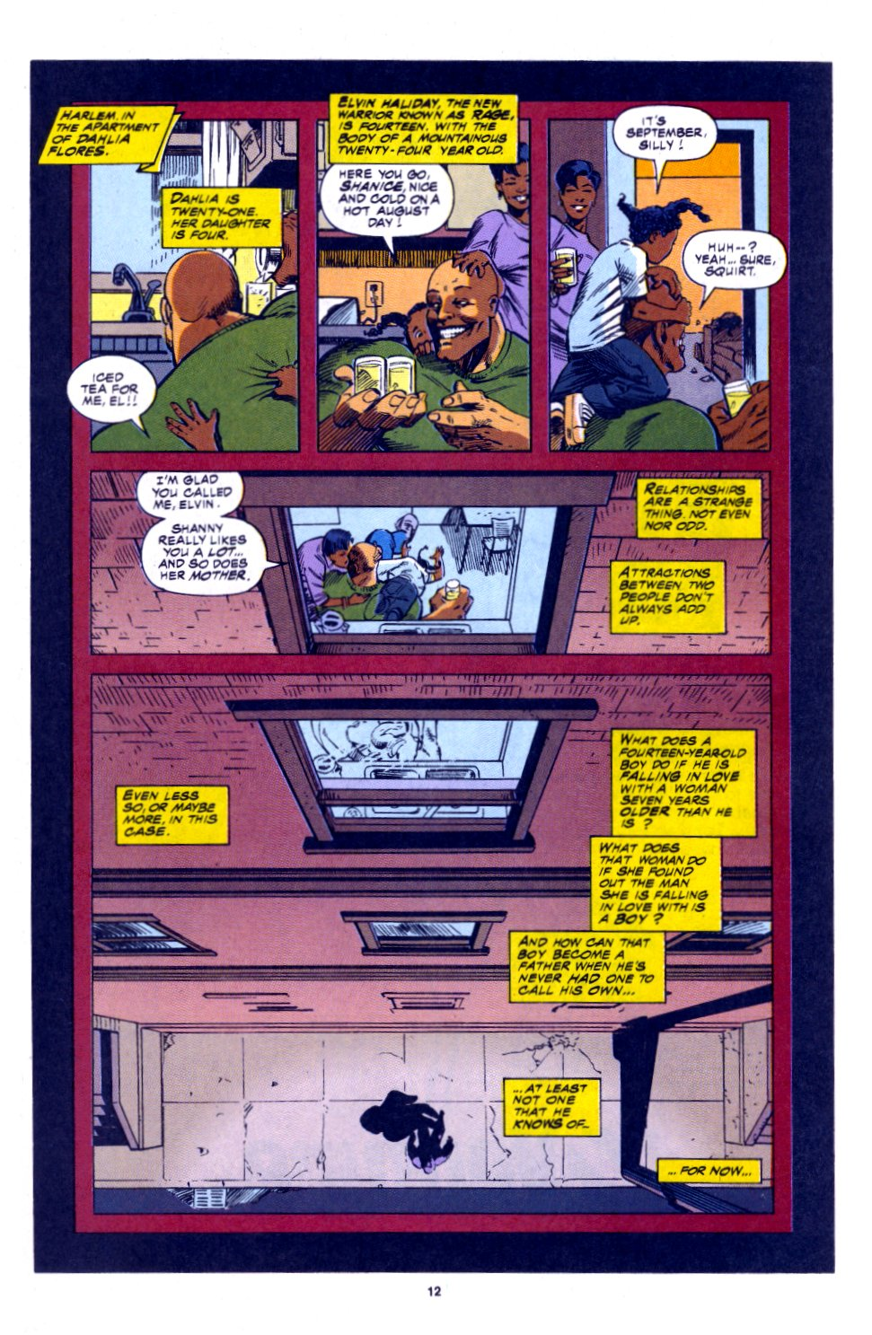 The New Warriors Issue #53 #57 - English 9