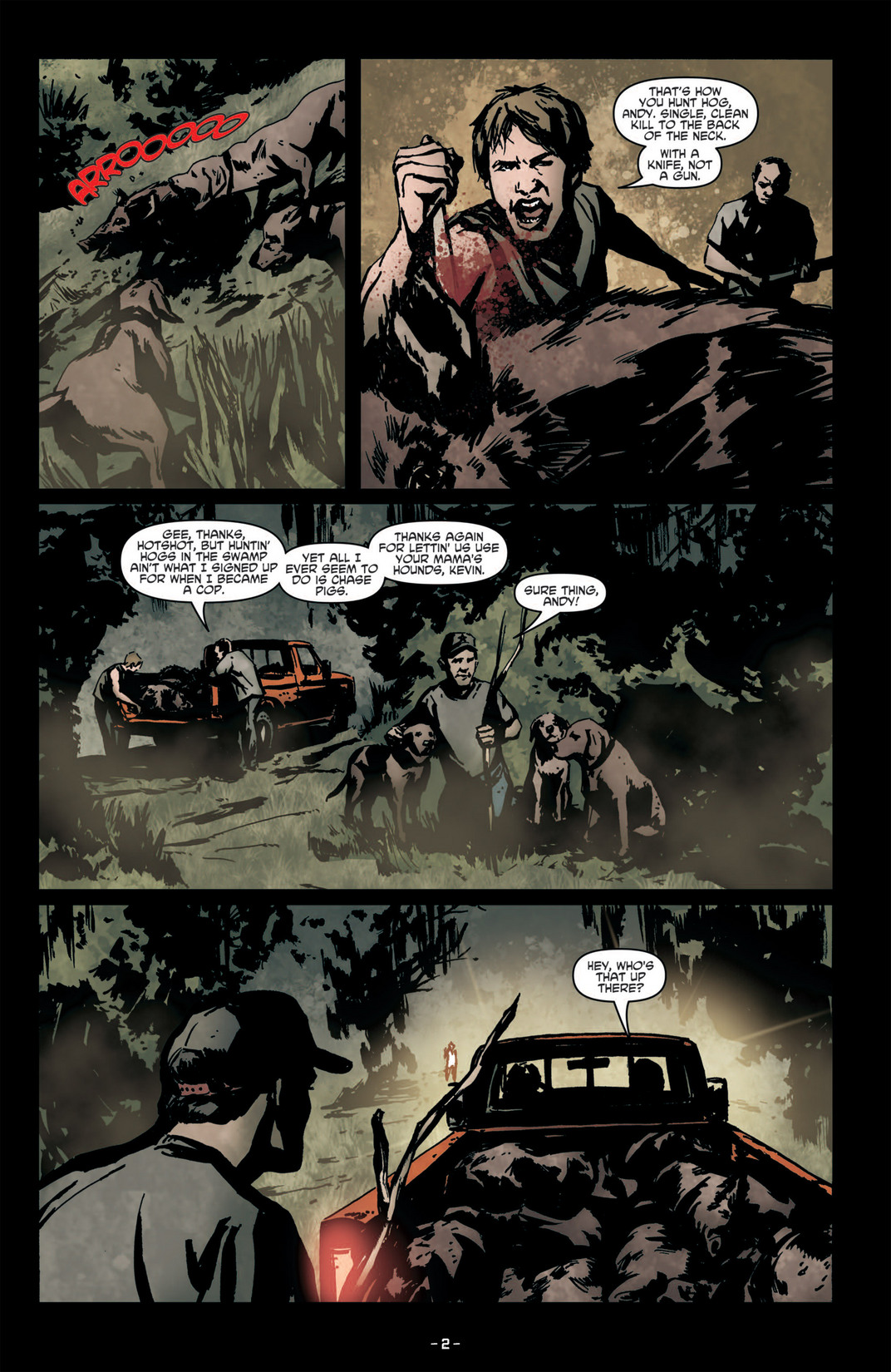 Read online True Blood (2012) comic -  Issue #6 - 5