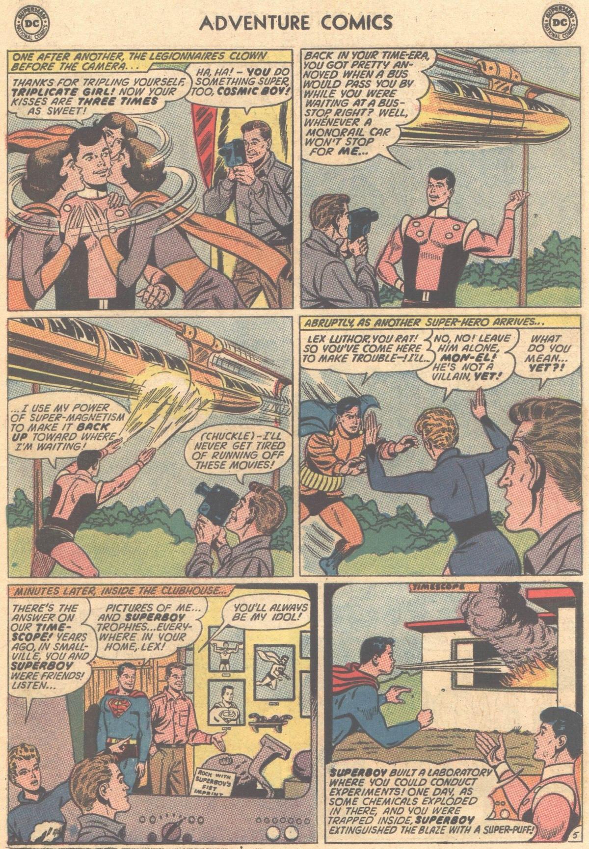 Read online Adventure Comics (1938) comic -  Issue #325 - 7
