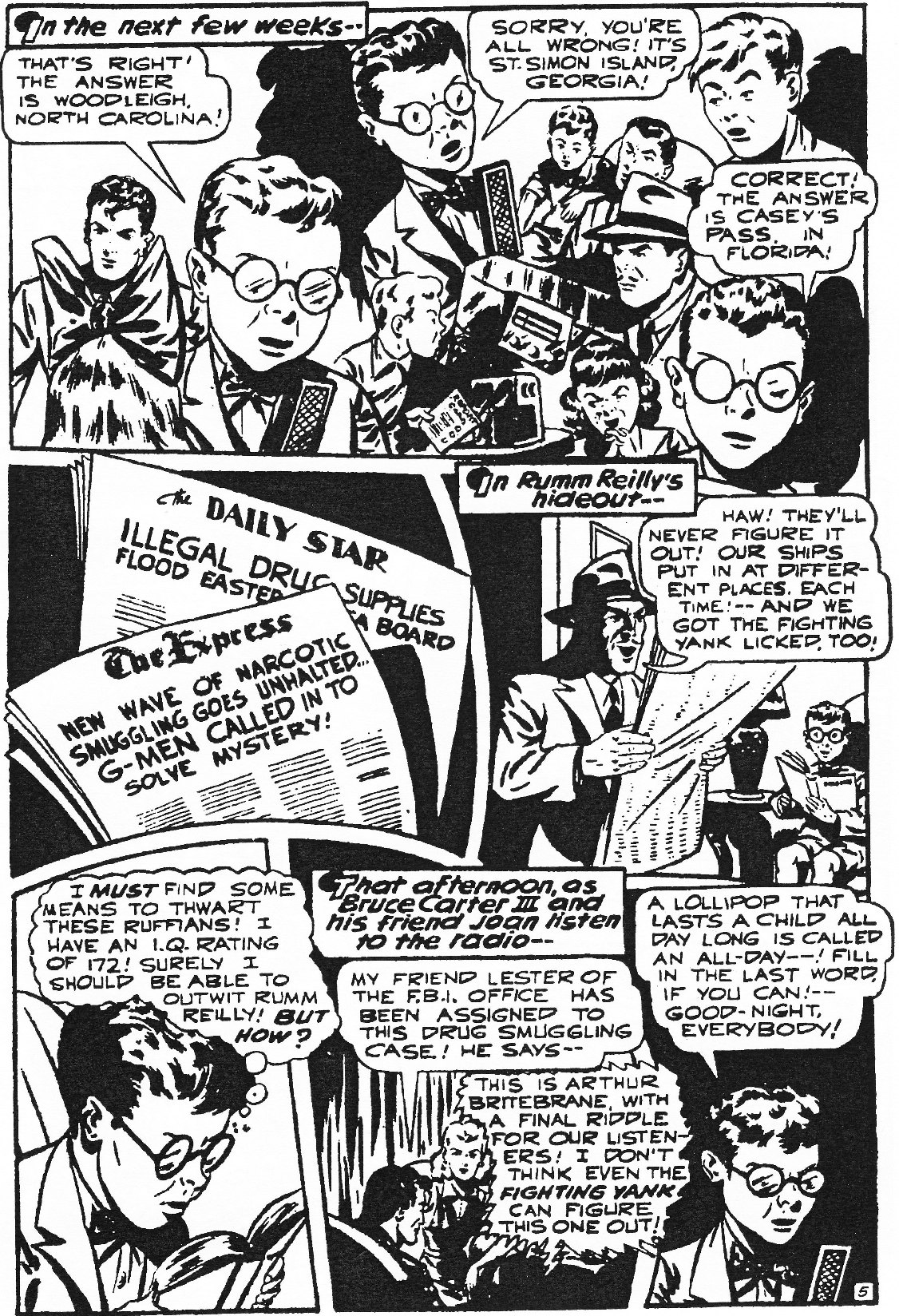 Read online Men of Mystery Comics comic -  Issue #84 - 39