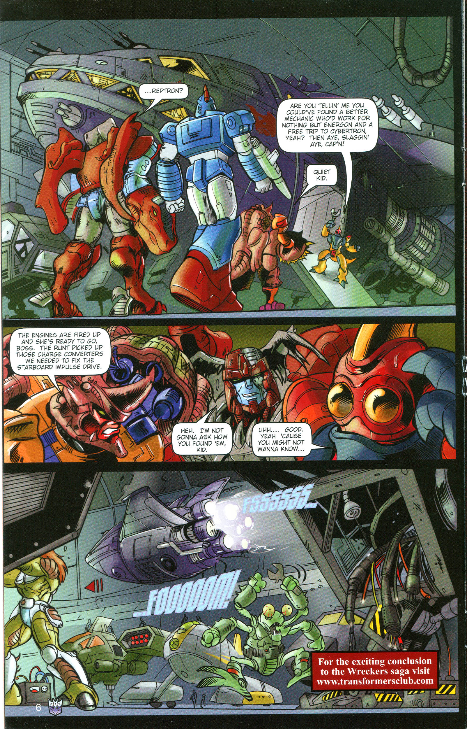 Read online Transformers: Collectors' Club comic -  Issue #16 - 6