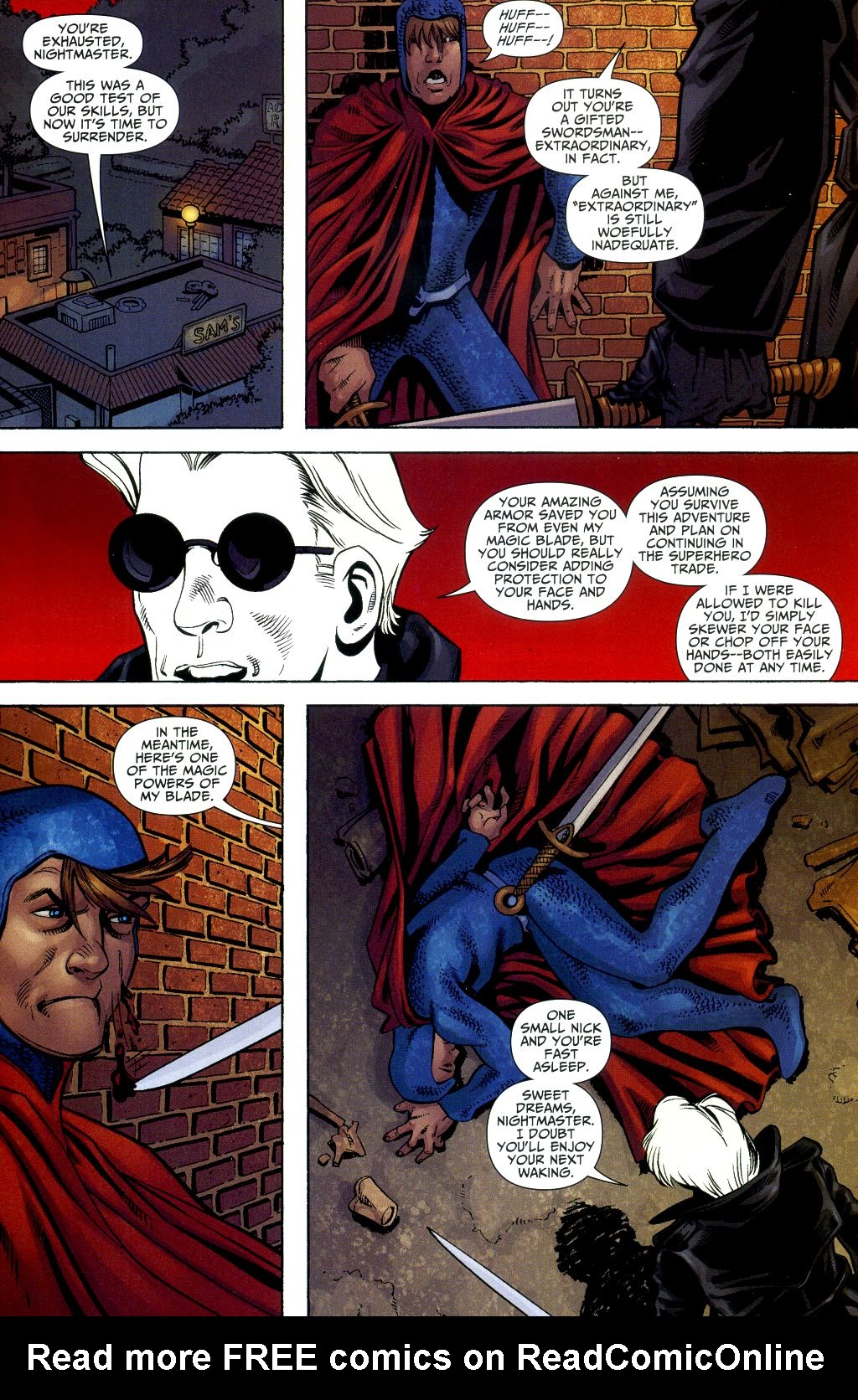 Read online Shadowpact comic -  Issue #2 - 14