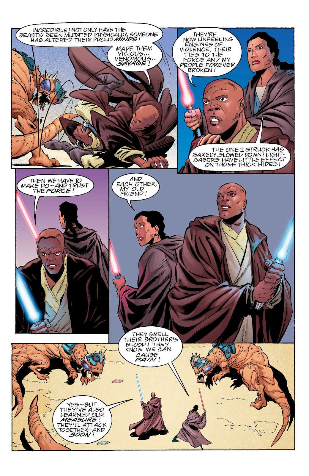 Read online Star Wars Legends Epic Collection: The Menace Revealed comic -  Issue # TPB (Part 4) - 76