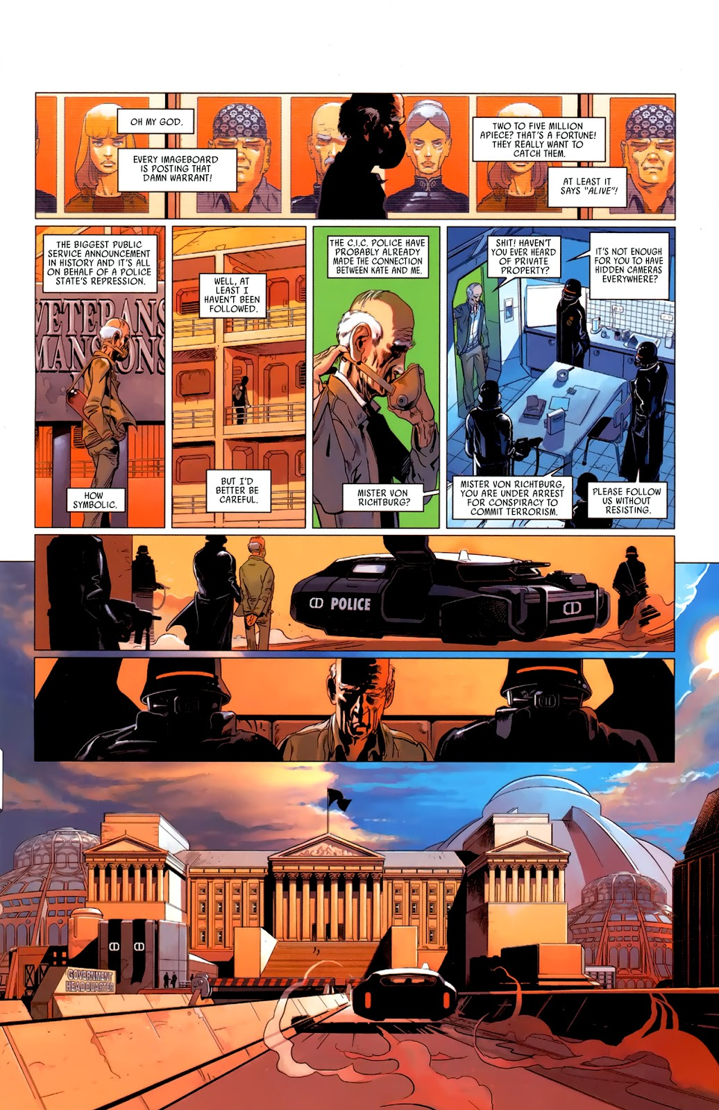 Read online Universal War One: Revelations comic -  Issue #3 - 15