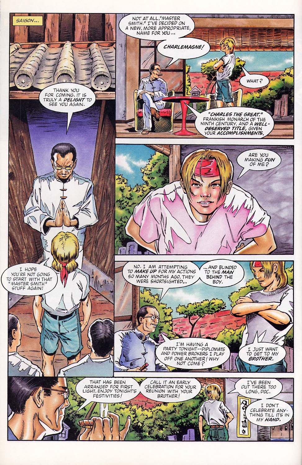 Read online Charlemagne comic -  Issue #1 - 19
