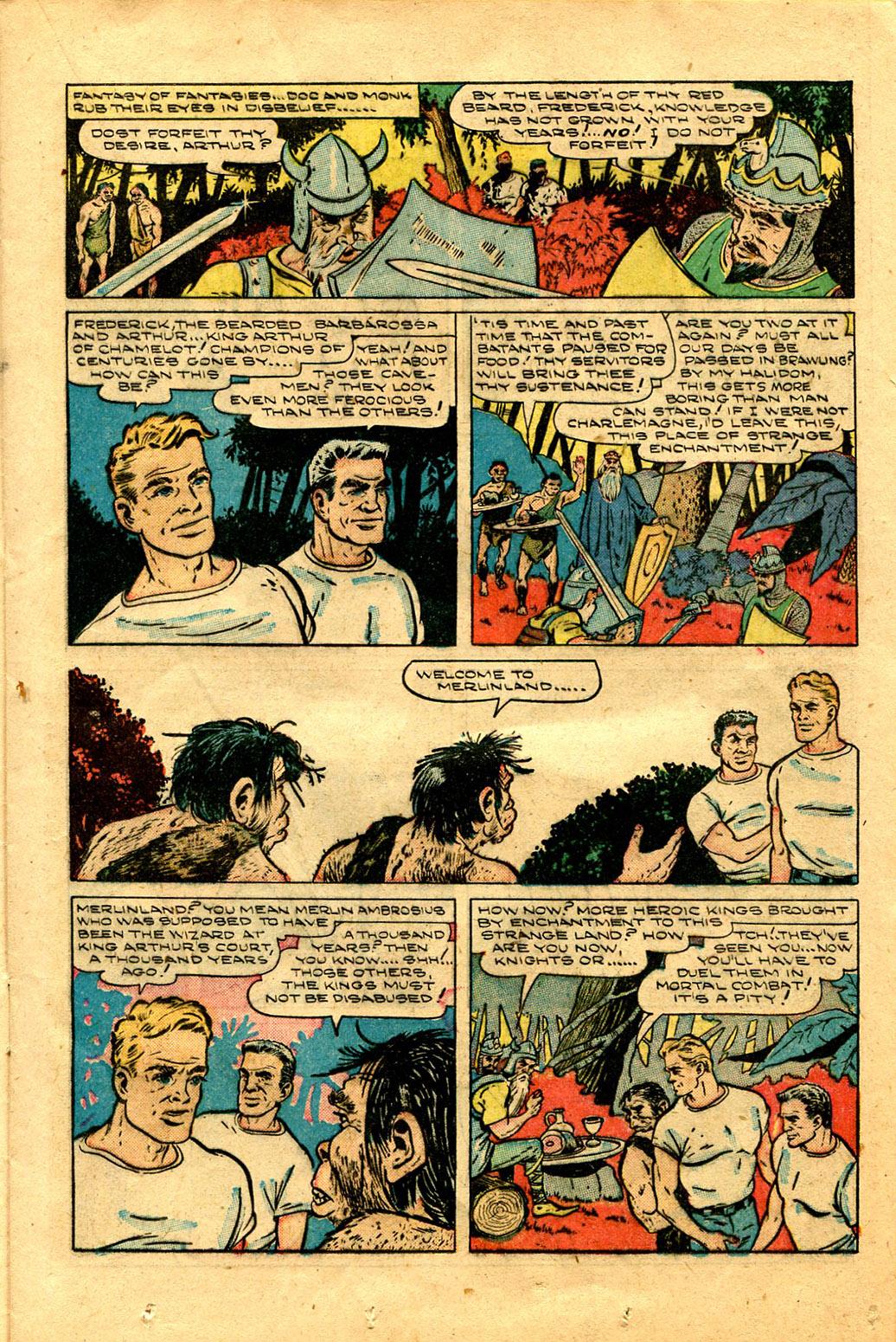 Read online Shadow Comics comic -  Issue #100 - 21