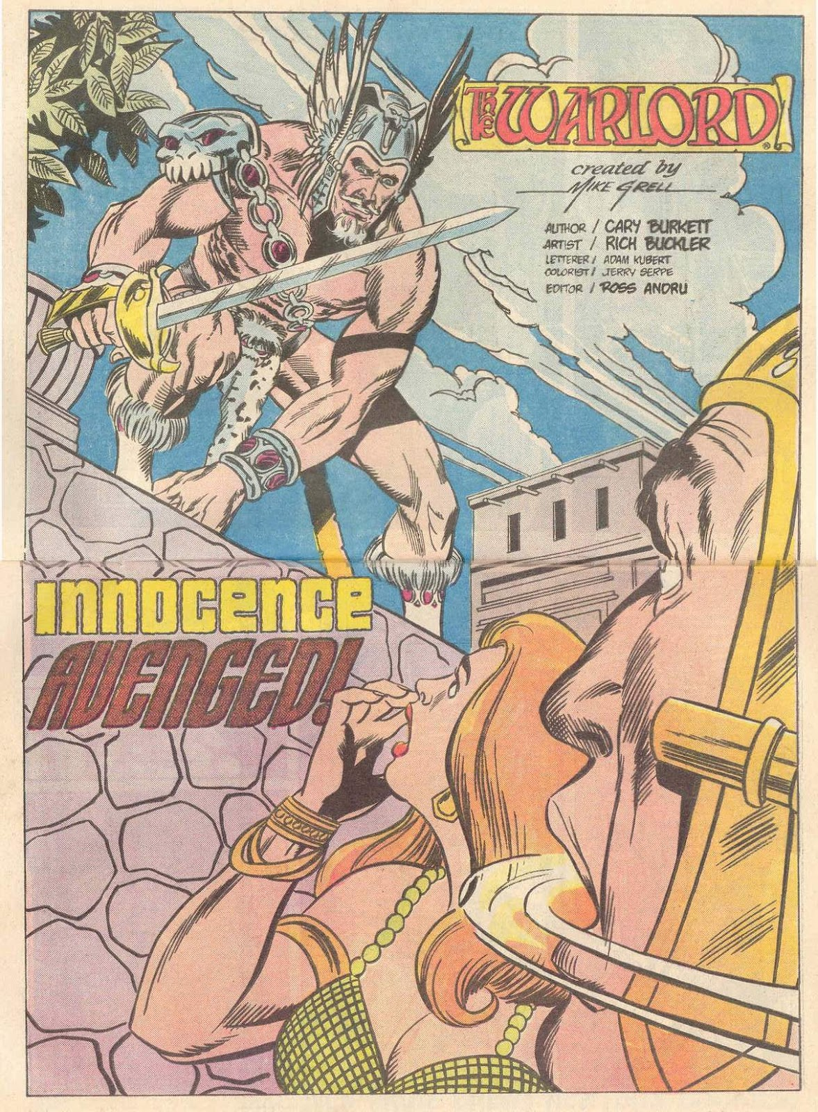 Warlord (1976) issue 89 - Page 3