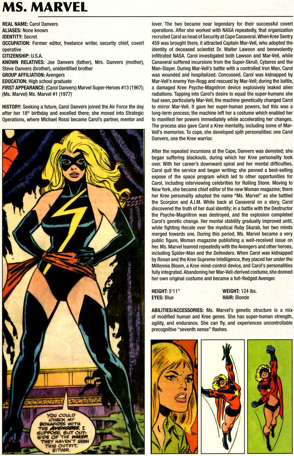 Read online Marvel Legacy: The 1970's Handbook comic -  Issue # Full - 44