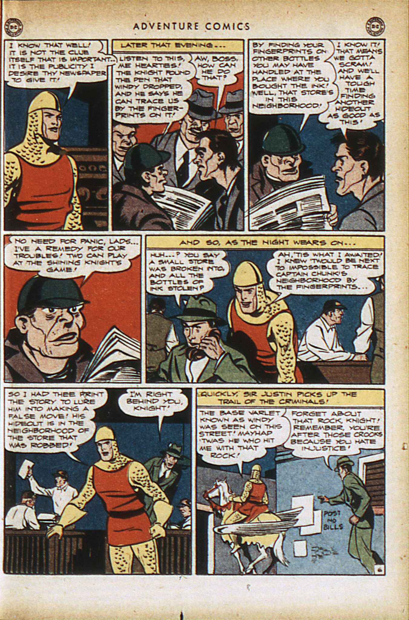 Read online Adventure Comics (1938) comic -  Issue #94 - 20