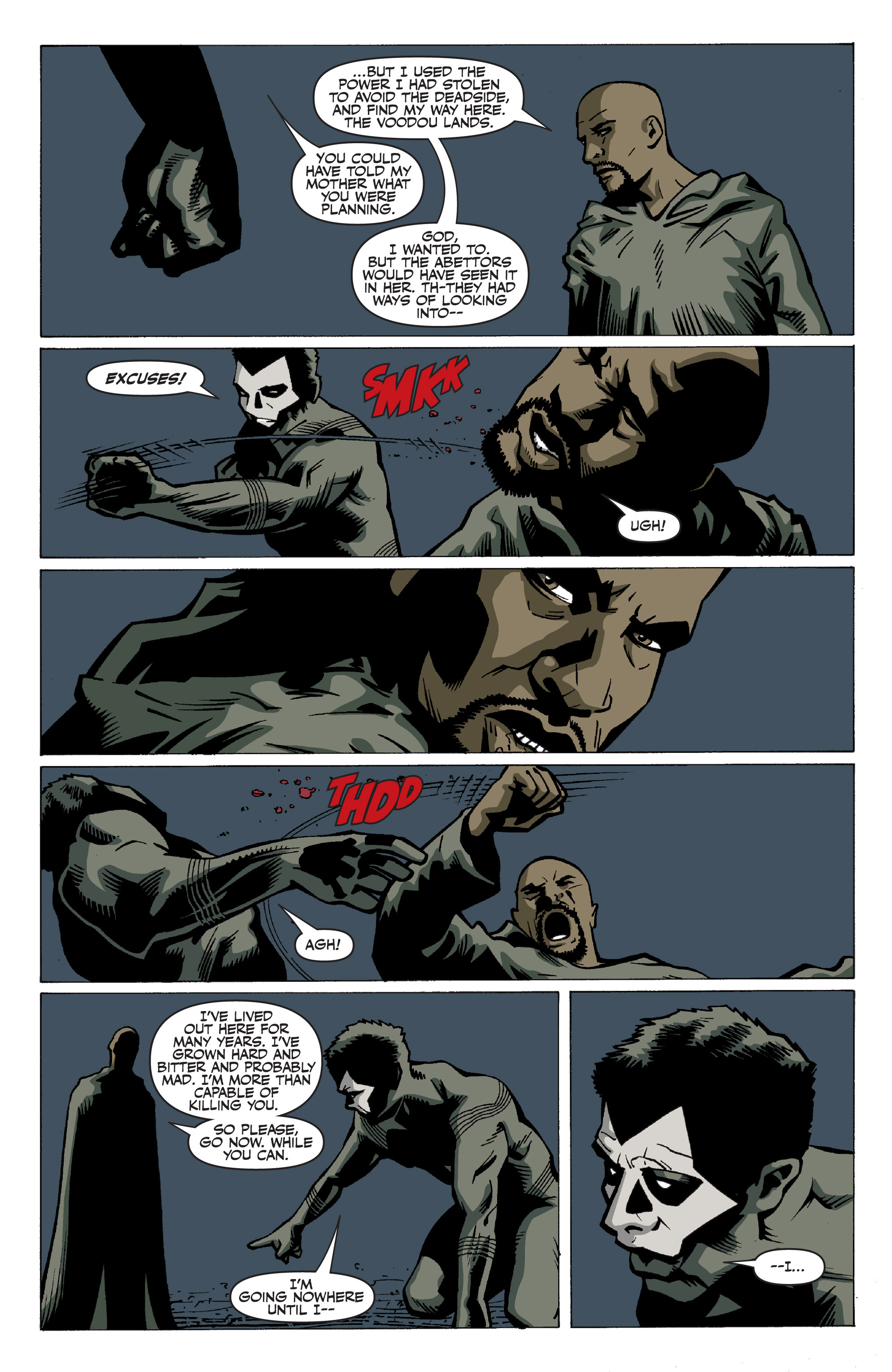 Read online Shadowman: End Times comic -  Issue #3 - 16