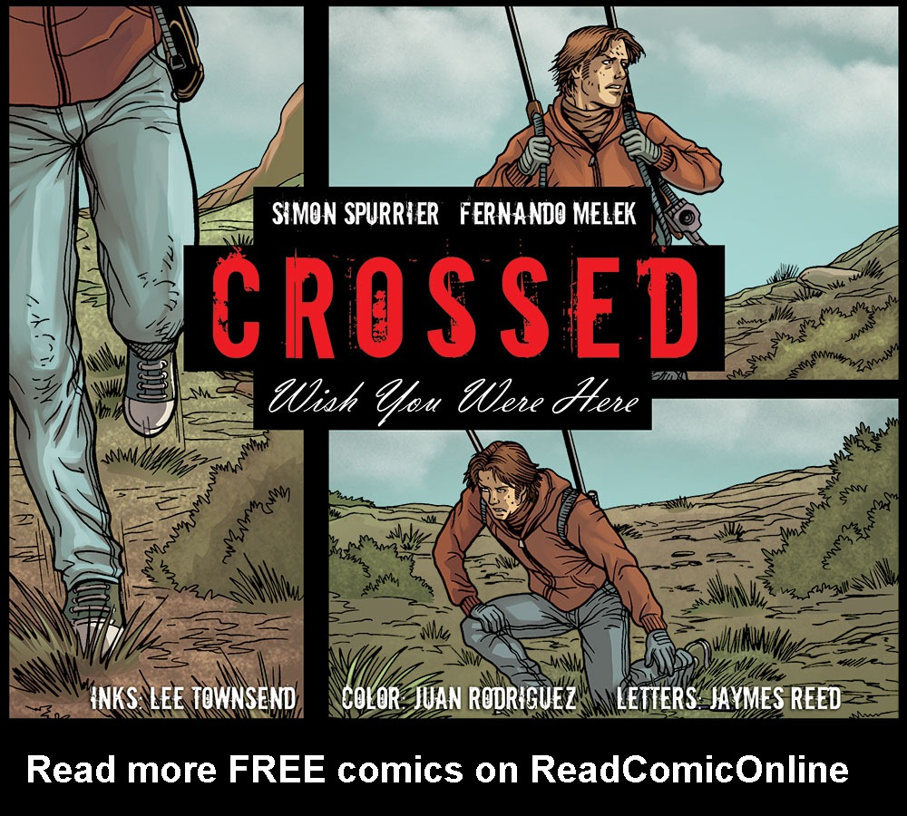 Crossed: Wish You Were Here - Volume 4 issue 1 - Page 1