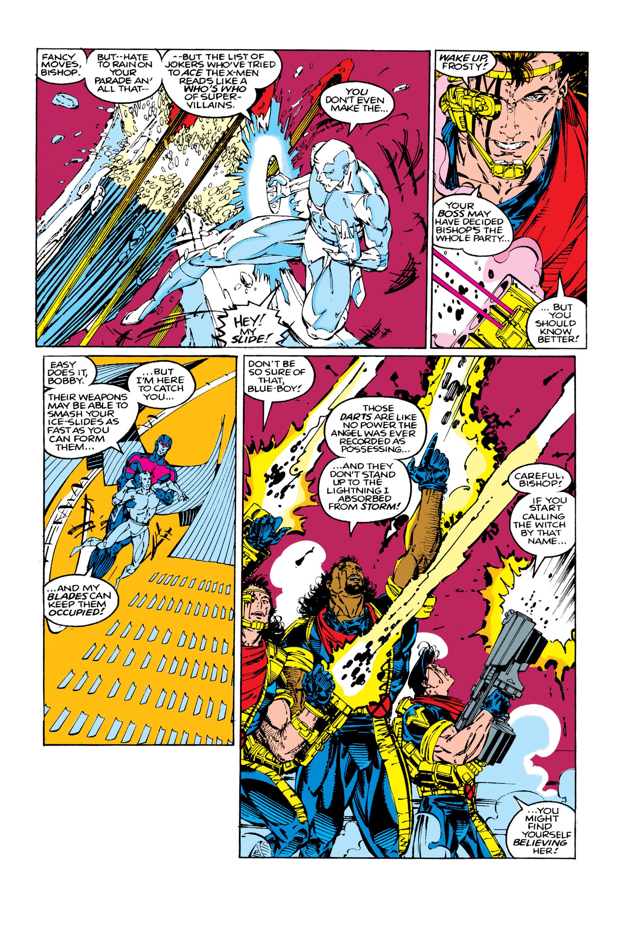 Read online Uncanny X-Men (1963) comic -  Issue #283 - 12