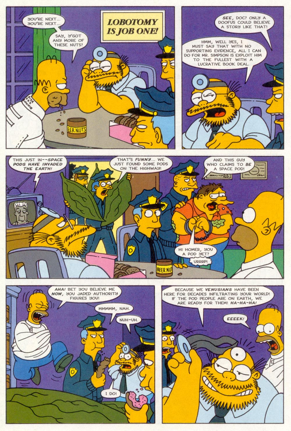 Read online Treehouse of Horror comic -  Issue #3 - 23