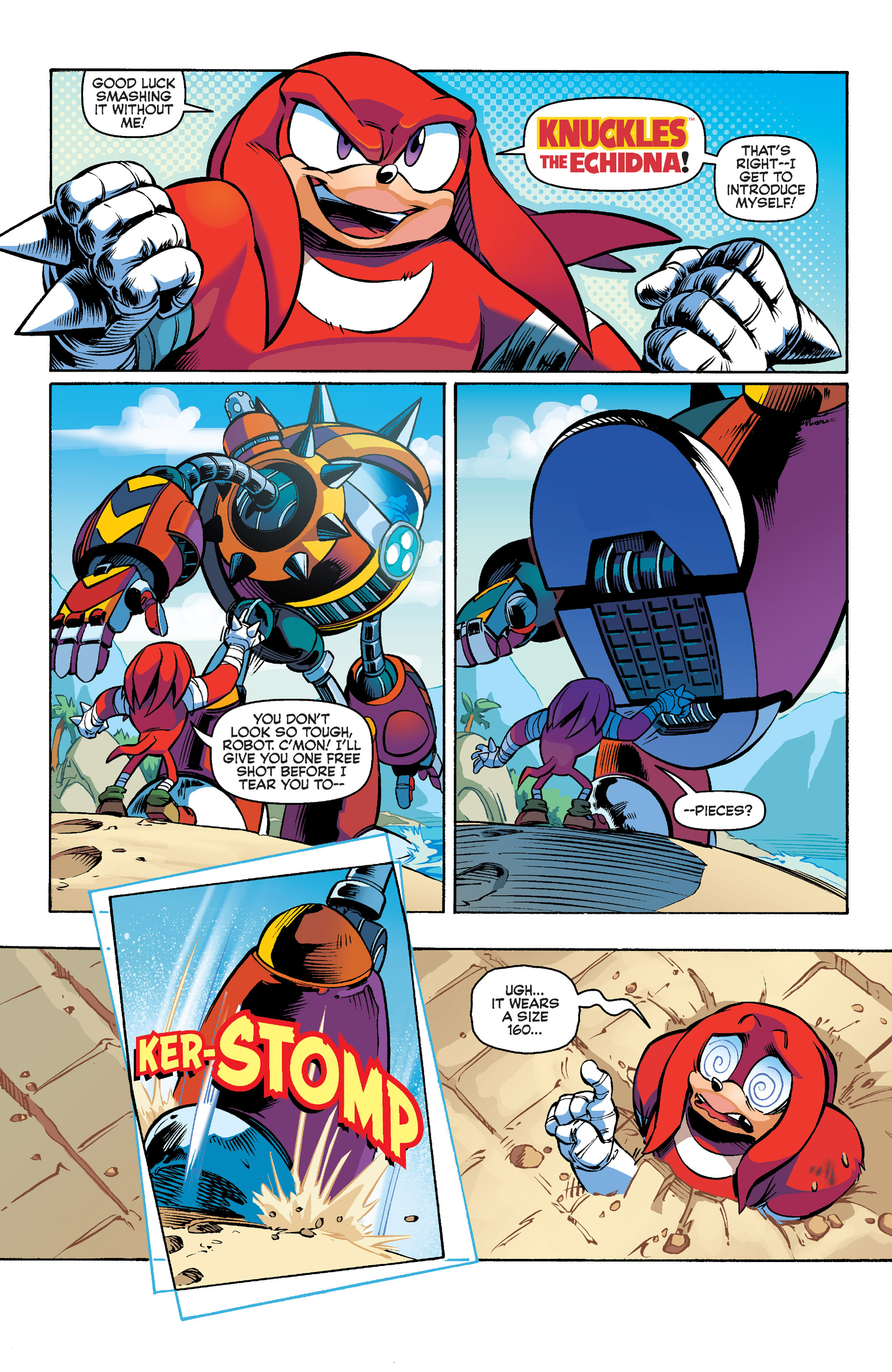Read online Sonic Boom comic -  Issue #1 - 6