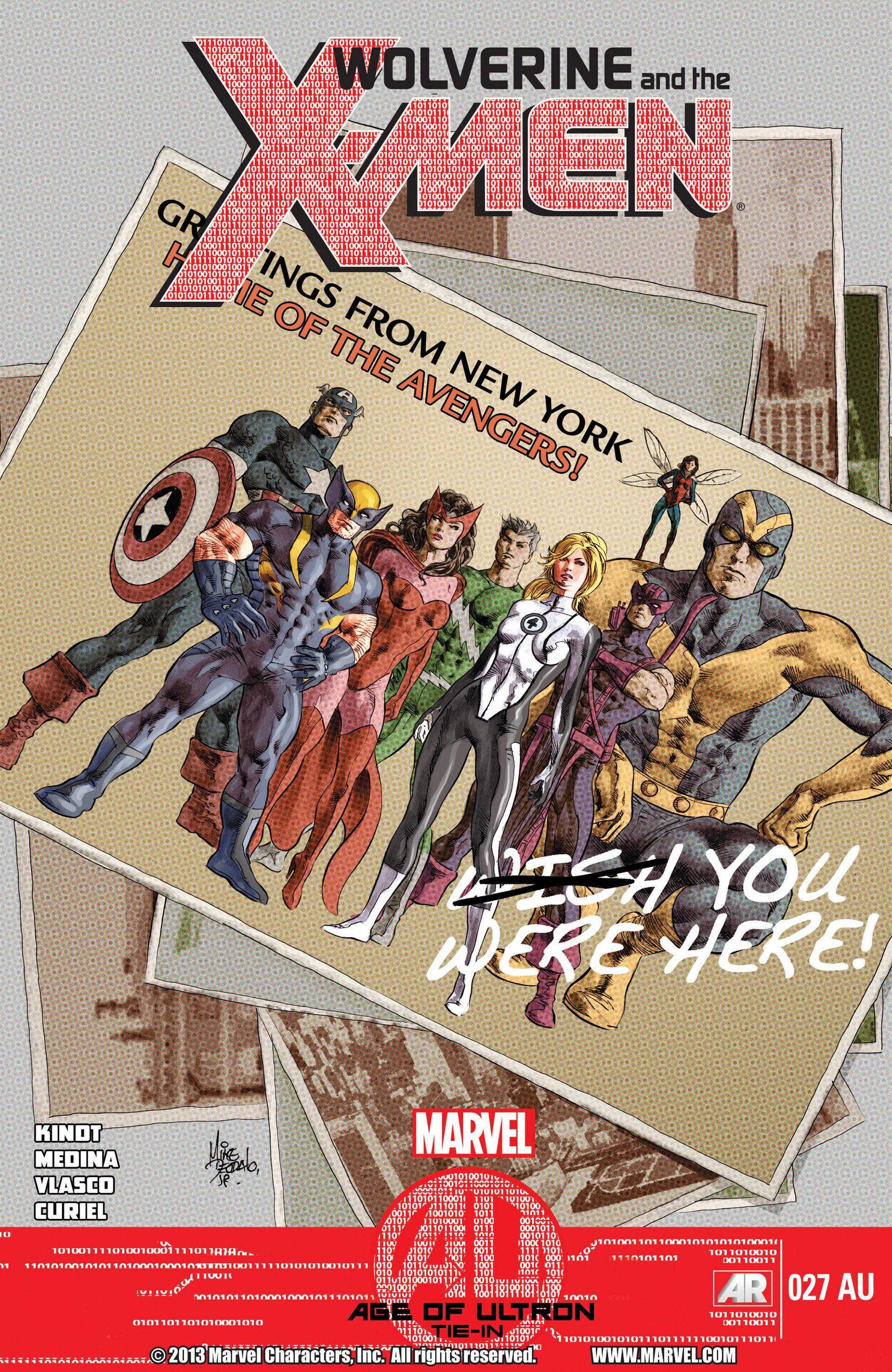 Wolverine & The X-Men 27AU Page 1