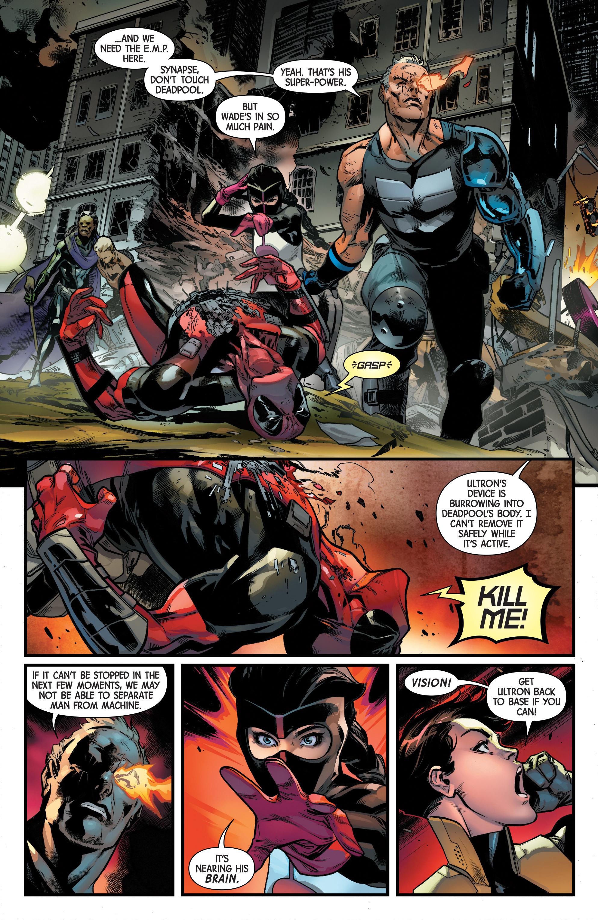 Read online Uncanny Avengers [II] comic -  Issue #11 - 10