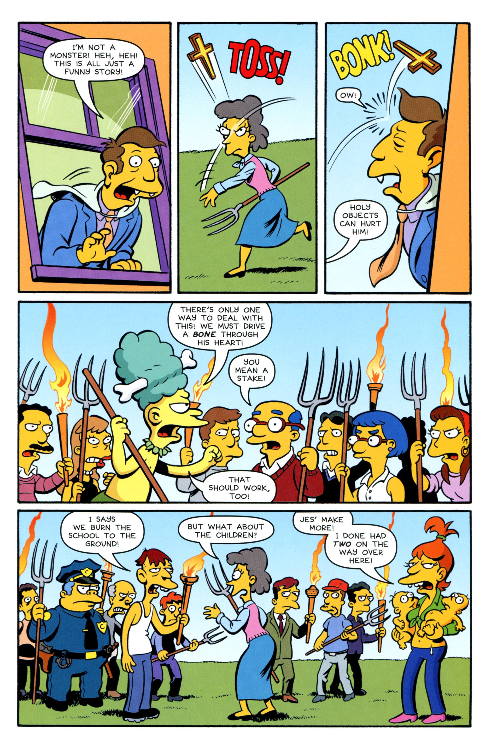 Read online Simpsons Comics Presents Bart Simpson comic -  Issue #89 - 21
