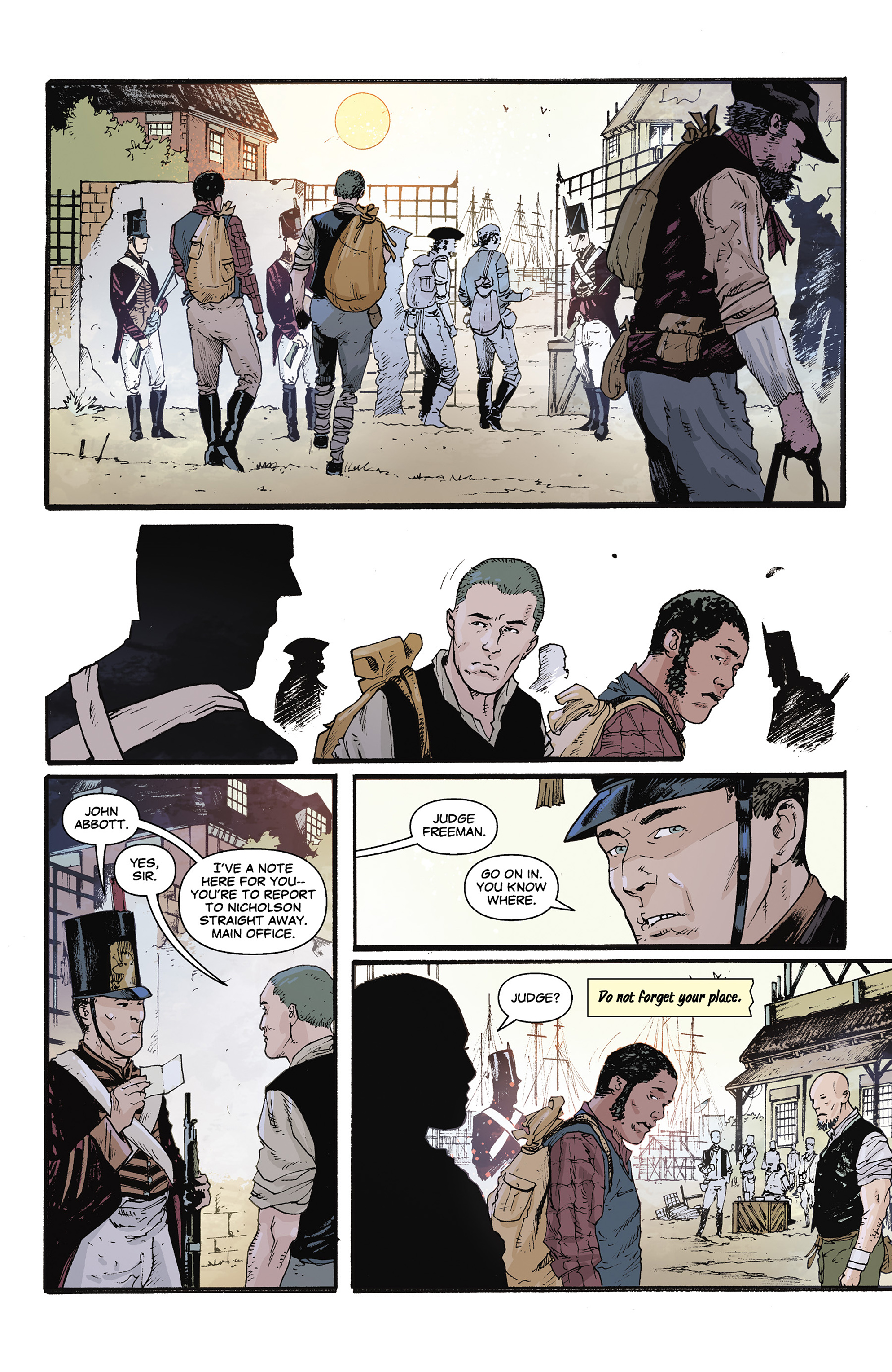 Read online Rebels: These Free and Independent States comic -  Issue #3 - 10