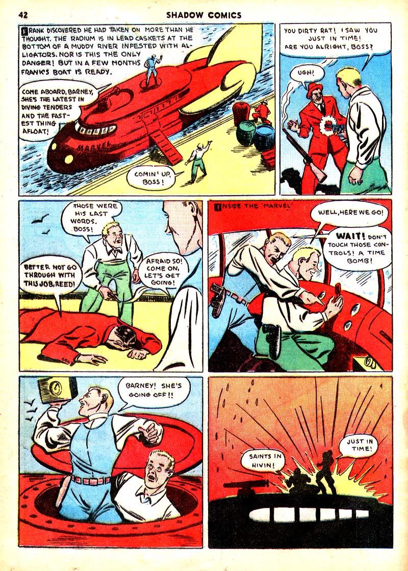 Read online Shadow Comics comic -  Issue #7 - 35