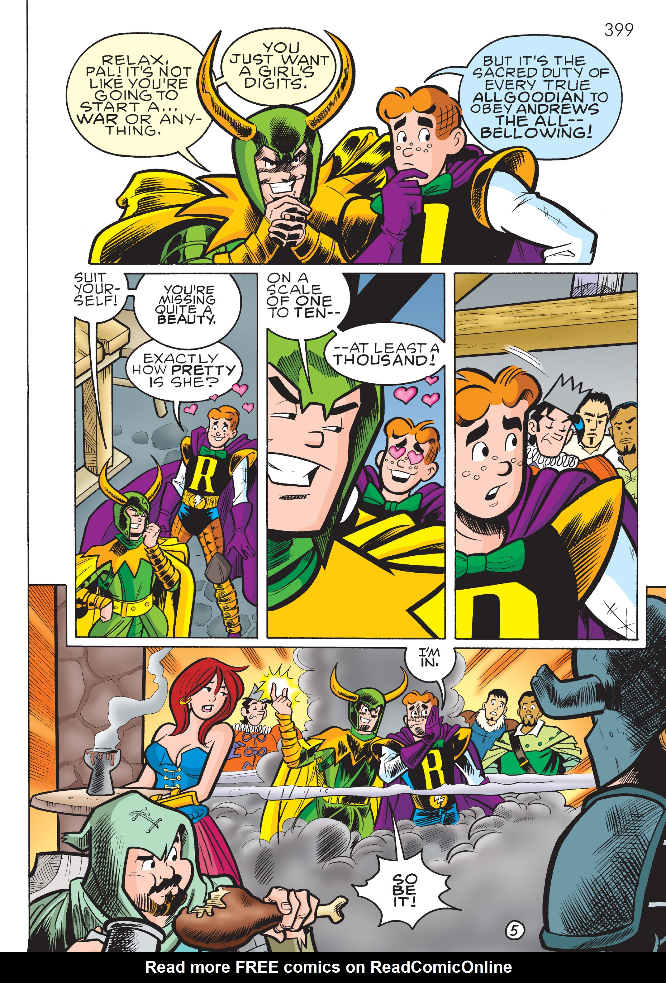 Read online The Best of Archie Comics comic -  Issue # TPB 4 (Part 2) - 189