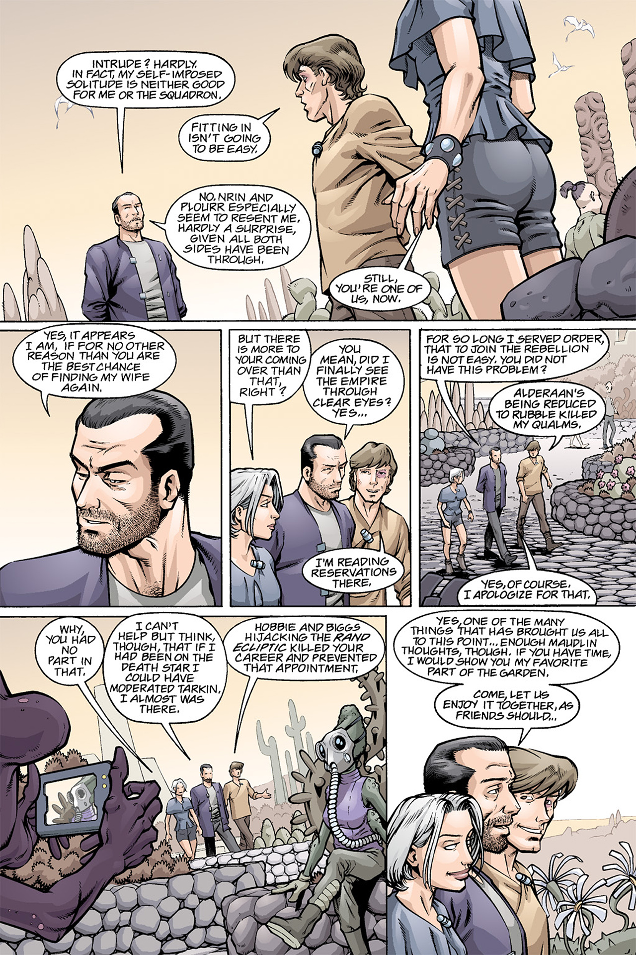 Read online Star Wars Omnibus comic -  Issue # Vol. 3 - 282