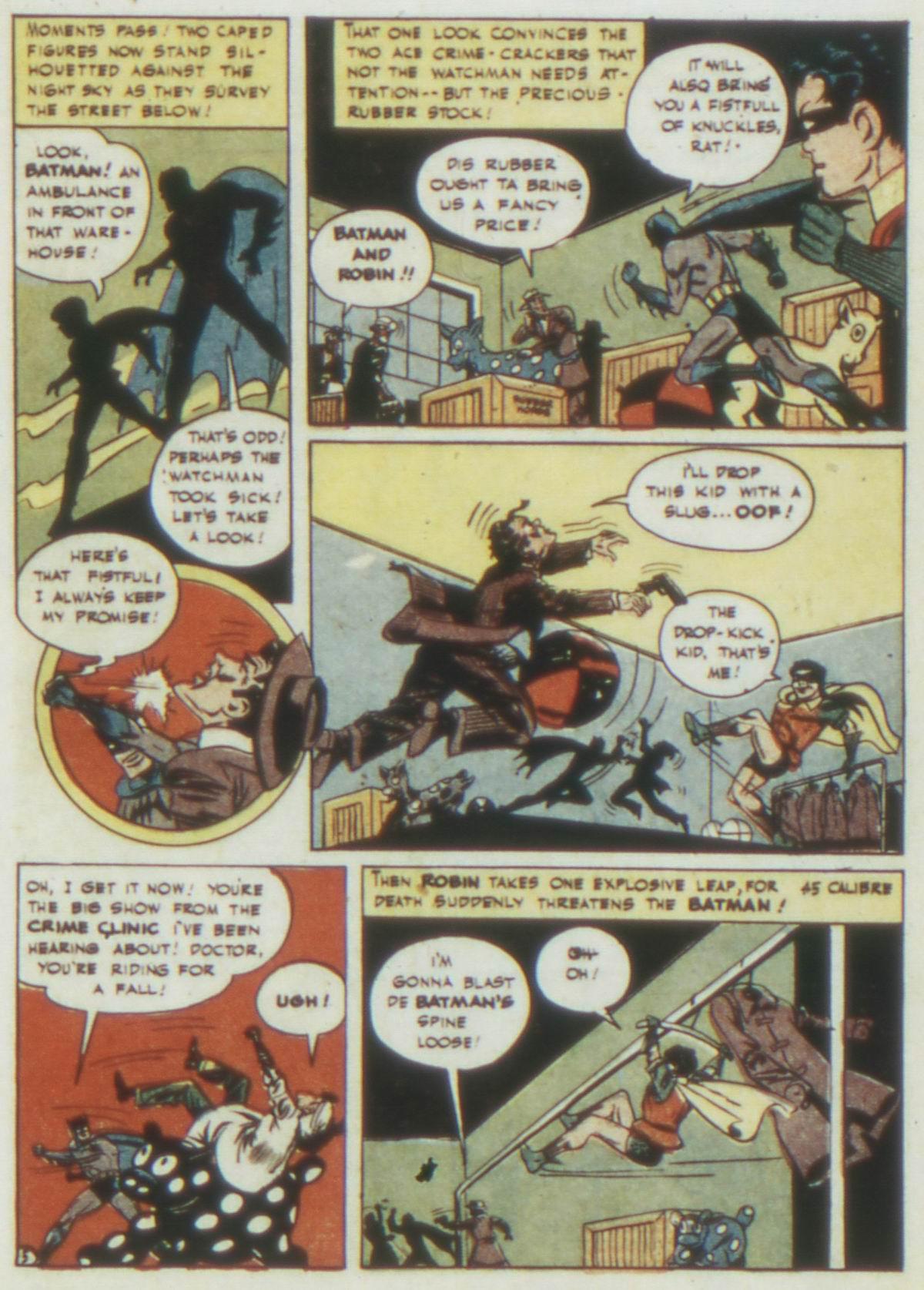 Read online Detective Comics (1937) comic -  Issue #77 - 7