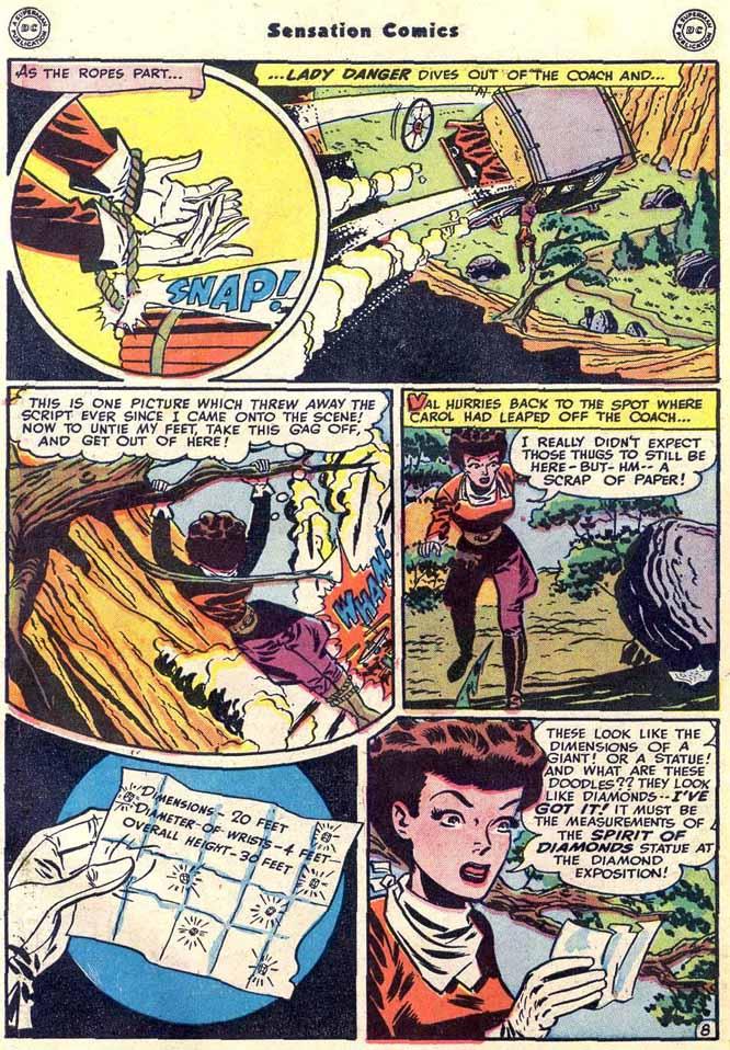 Read online Sensation (Mystery) Comics comic -  Issue #89 - 48