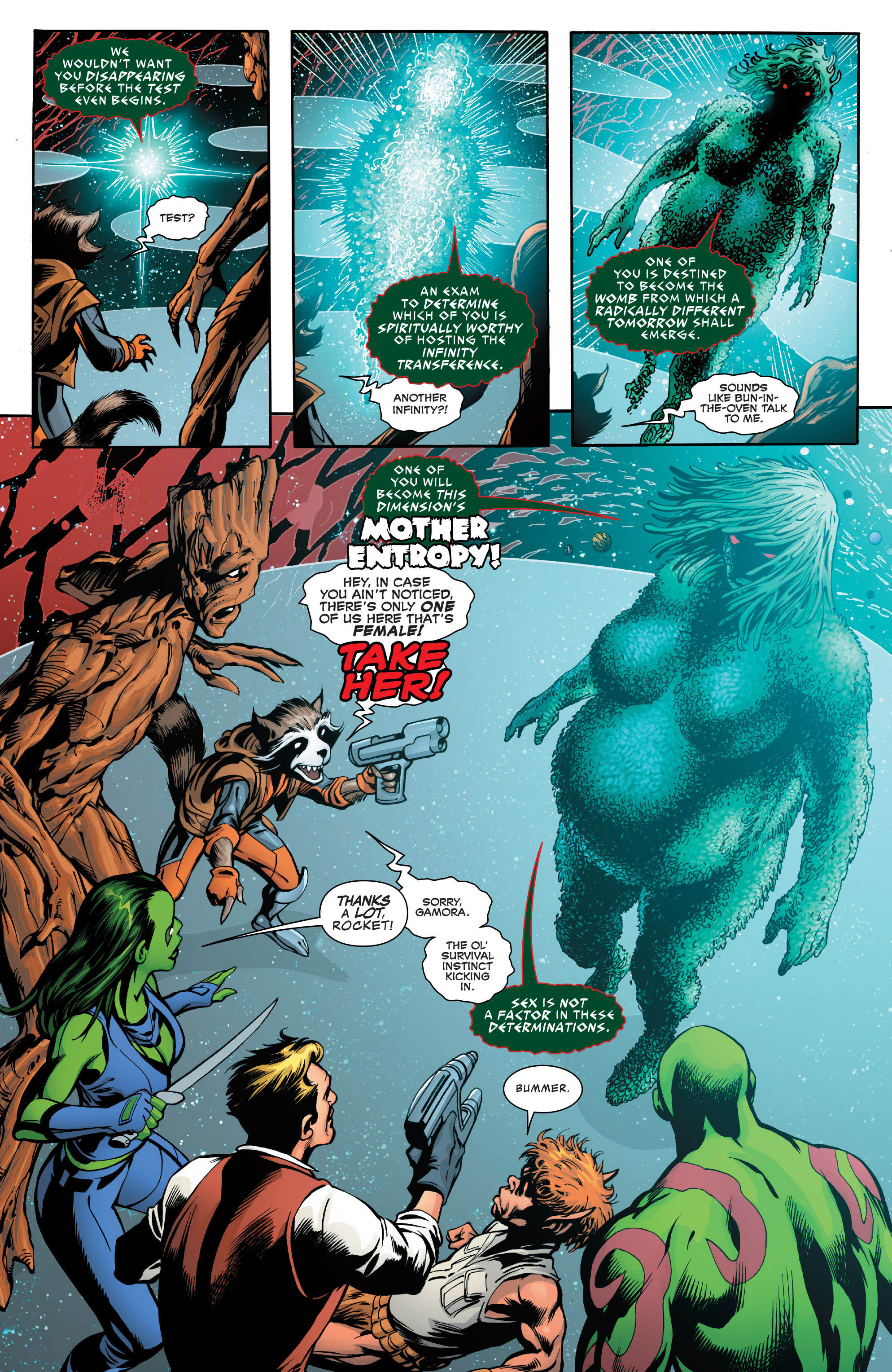 Read online Guardians of the Galaxy: Mother Entropy comic -  Issue #2 - 5
