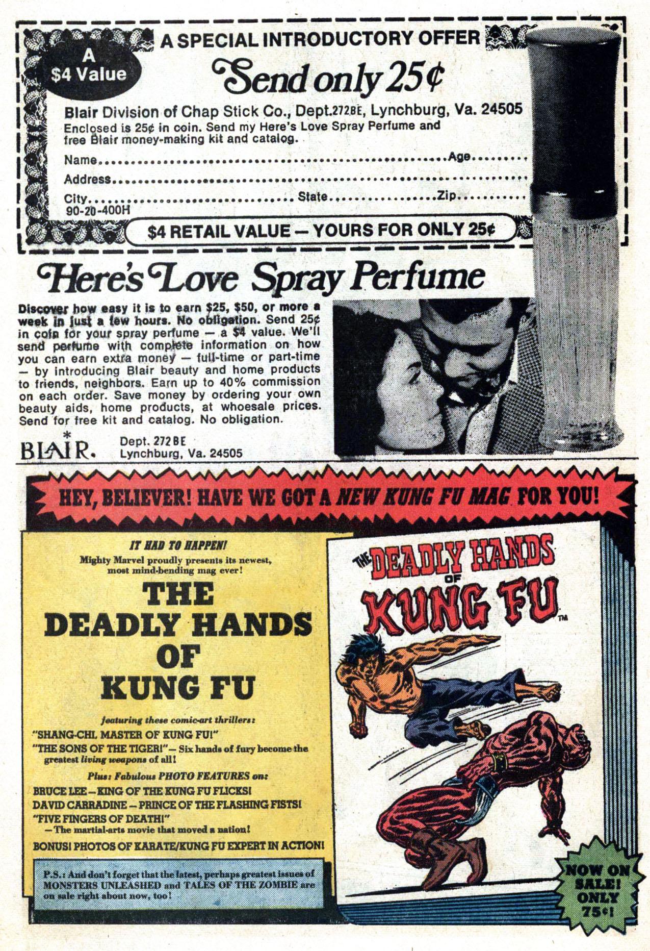 Read online Amazing Adventures (1970) comic -  Issue #24 - 28