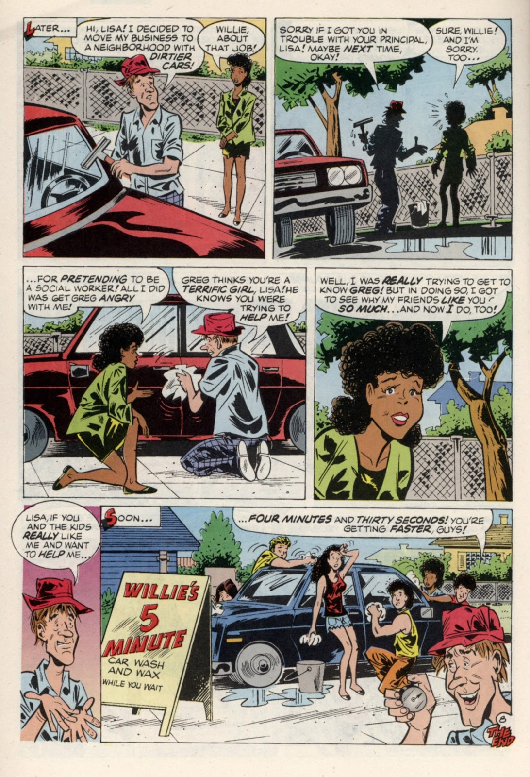 Read online Saved By The Bell comic -  Issue #4 - 29