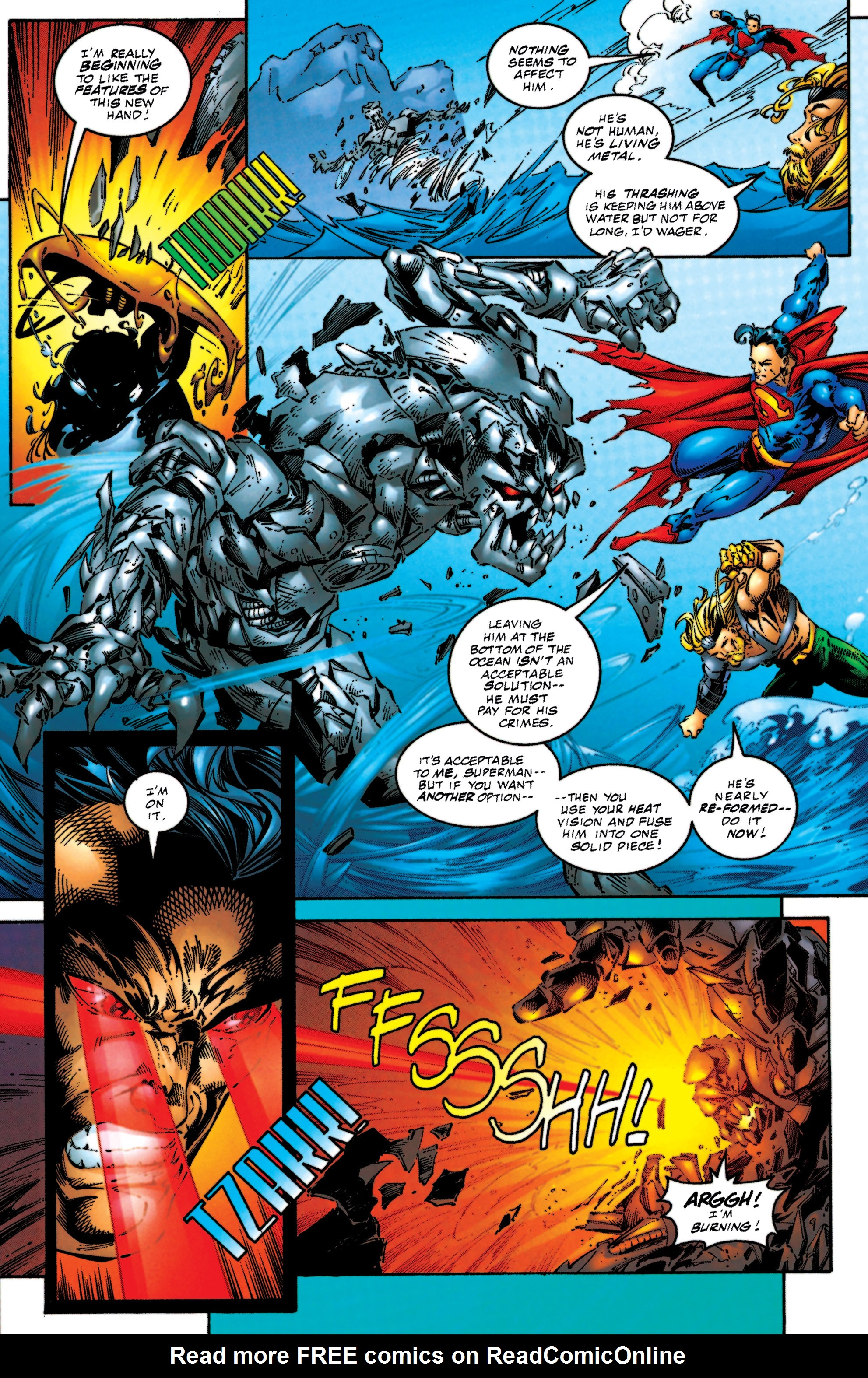 Read online Aquaman (1994) comic -  Issue #53 - 22